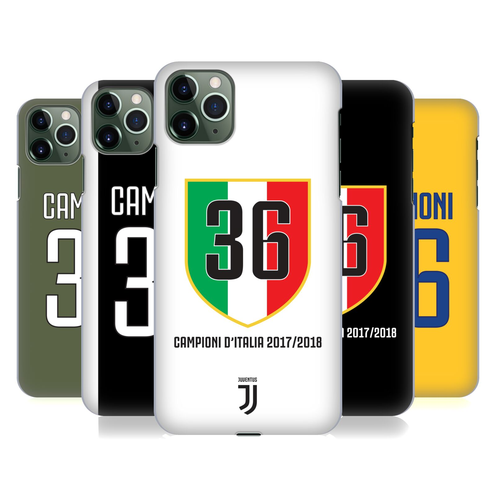 Official Juventus Football Club 2018 Campioni D'Italia