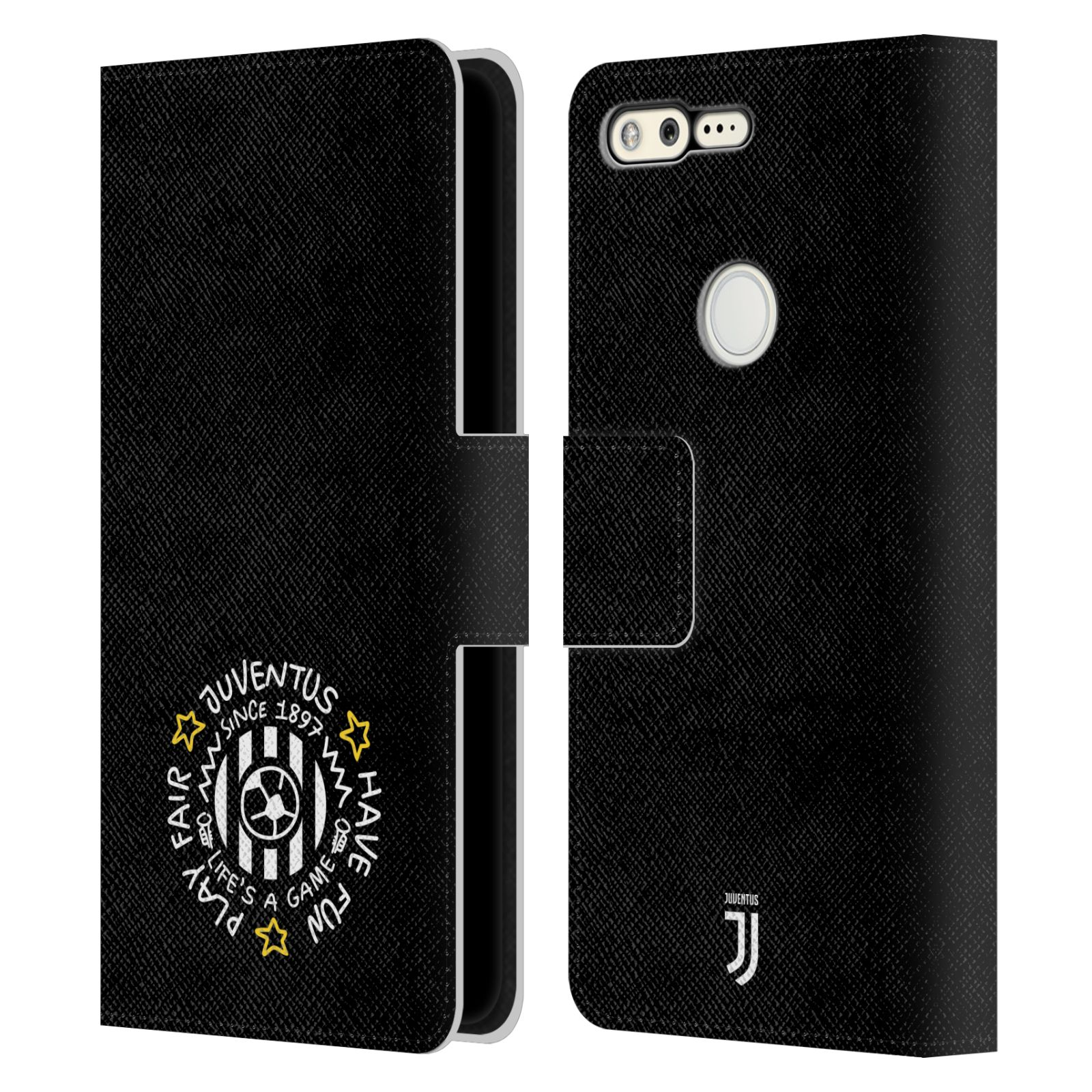 OFFICIAL-JUVENTUS-FOOTBALL-CLUB-2018-19-KIDS-LEATHER-BOOK-CASE-FOR-GOOGLE-PHONES