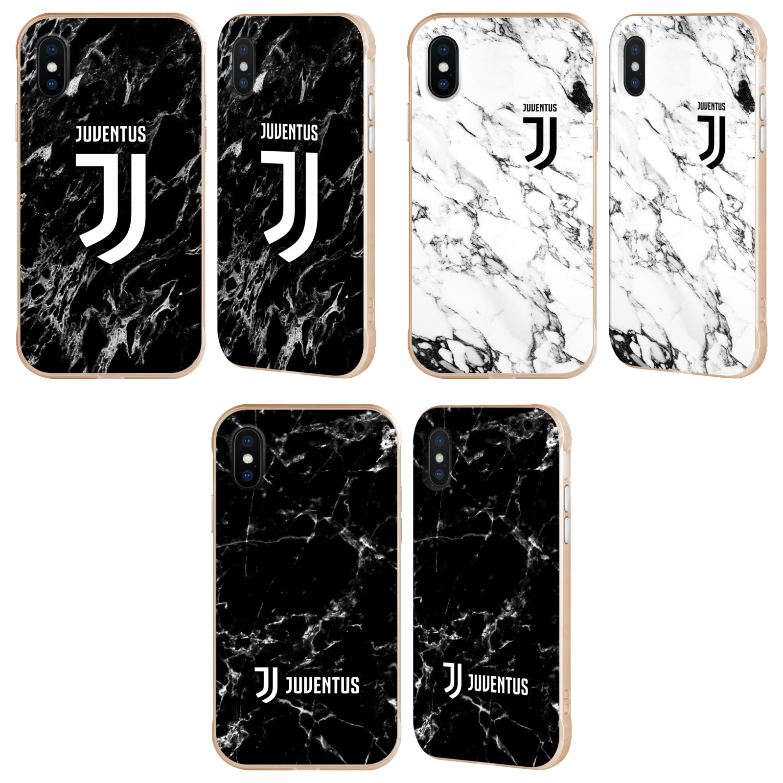 JUVENTUS-FOOTBALL-CLUB-2017-18-MARBLE-GOLD-FENDER-CASE-FOR-APPLE-iPHONE-PHONES