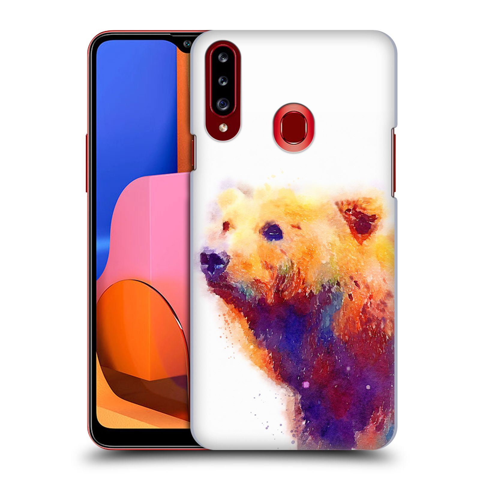 Official Jacqueline Maldonado Animals The Protective Back Case for Samsung Galaxy A20s (2019)