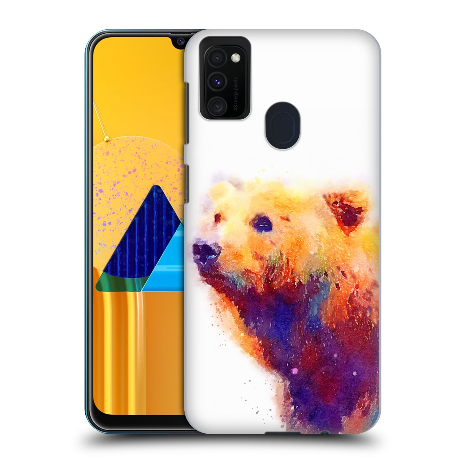Official Jacqueline Maldonado Animals The Protective Back Case for Samsung Galaxy M30s (2019)