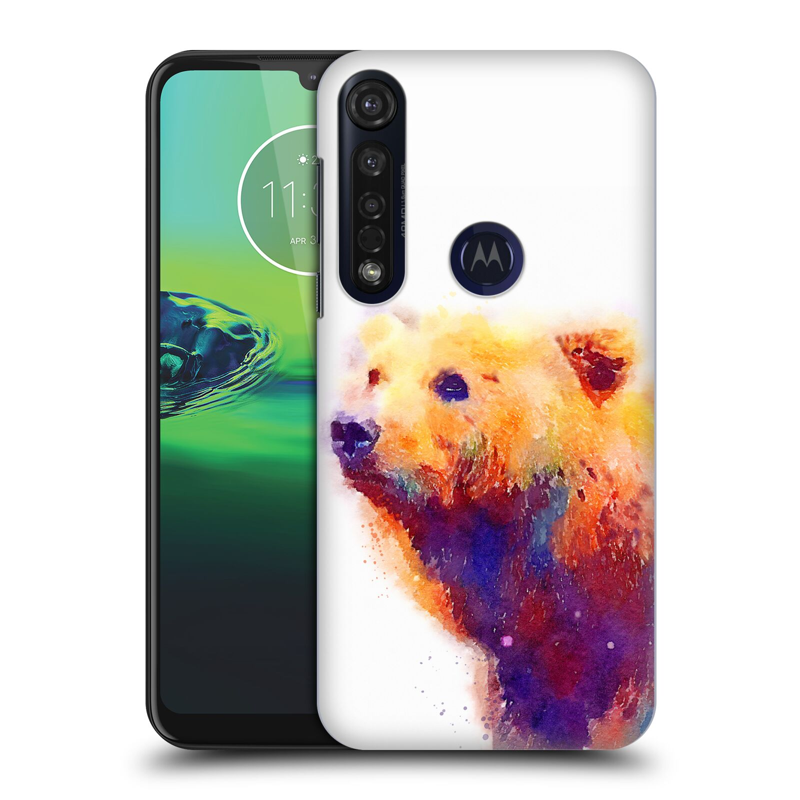 Official Jacqueline Maldonado Animals The Protective Back Case for Motorola Moto G8 Plus