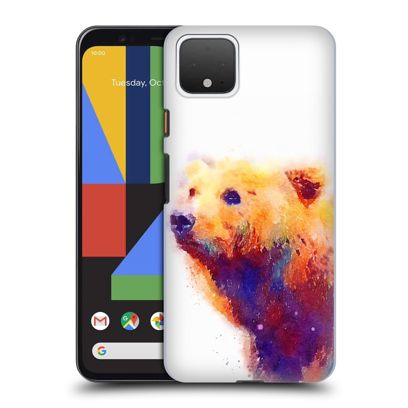 Official Jacqueline Maldonado Animals The Protective Back Case for Google Pixel 4