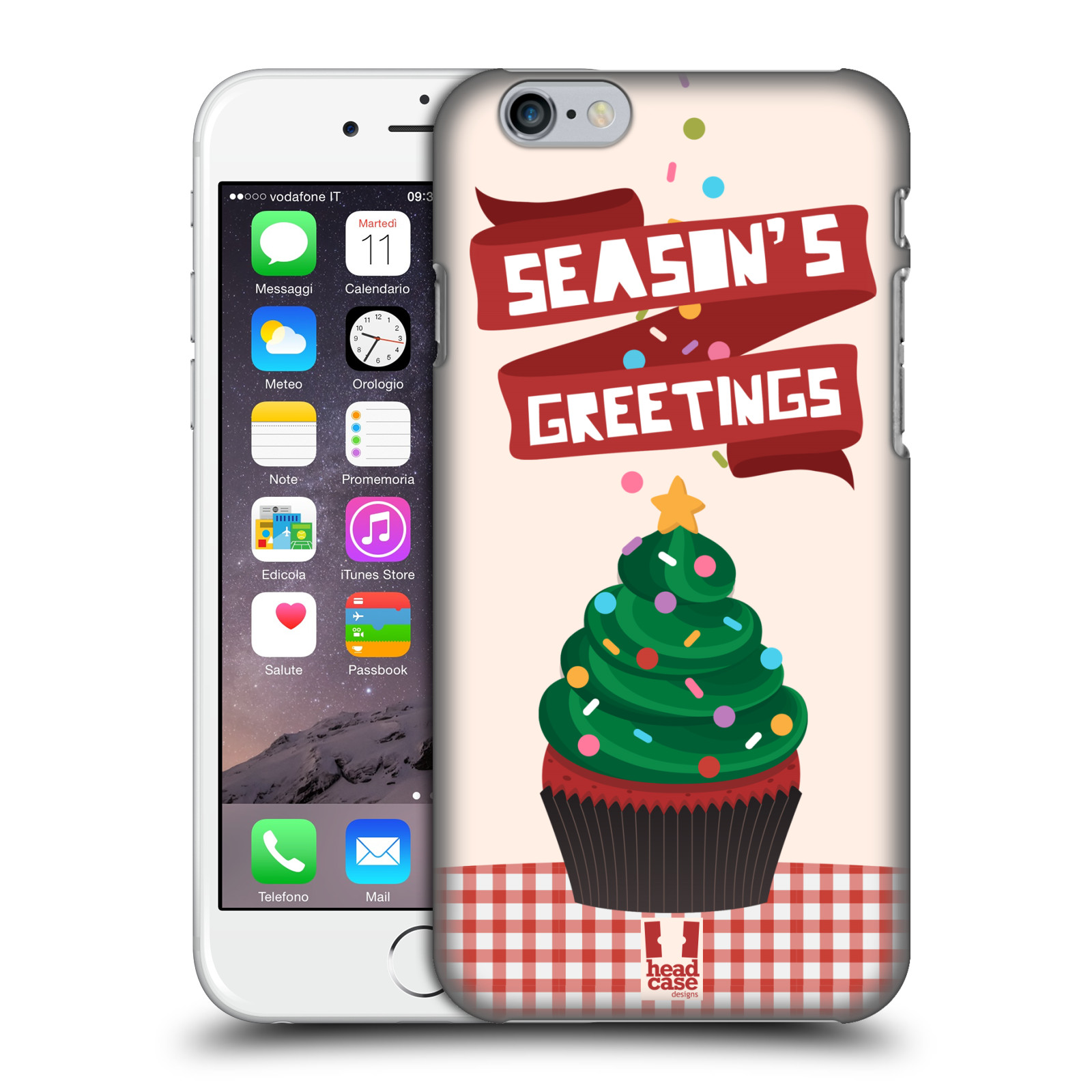 HEAD-CASE-DESIGNS-ALBERI-FELICI-COVER-RETRO-RIGIDA-PER-APPLE-iPHONE-TELEFONI