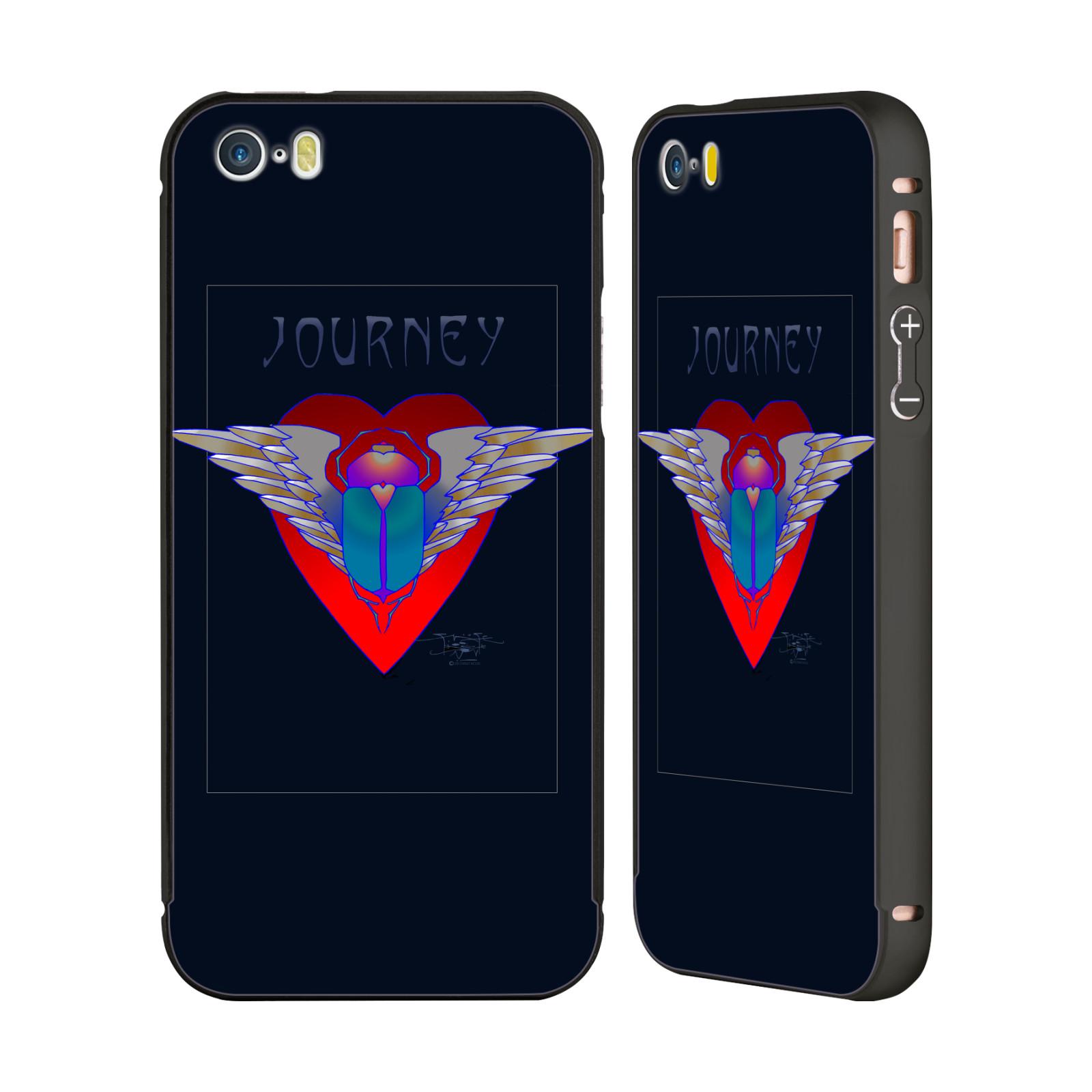 OFFICIAL-JOURNEY-LOGO-2-BLACK-BUMPER-SLIDER-CASE-FOR-APPLE-iPHONE-PHONES