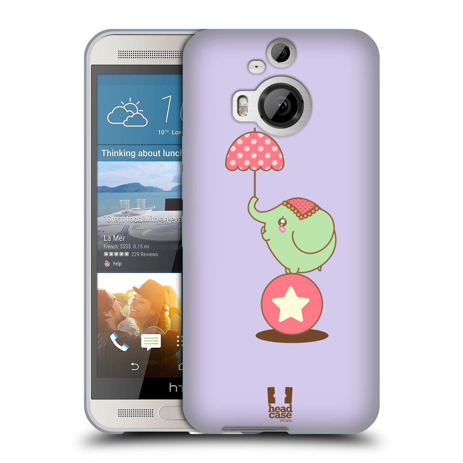 HEAD-CASE-DESIGNS-ELEFANTI-KAWAII-COVER-MORBIDA-IN-GEL-PER-HTC-TELEFONI-2