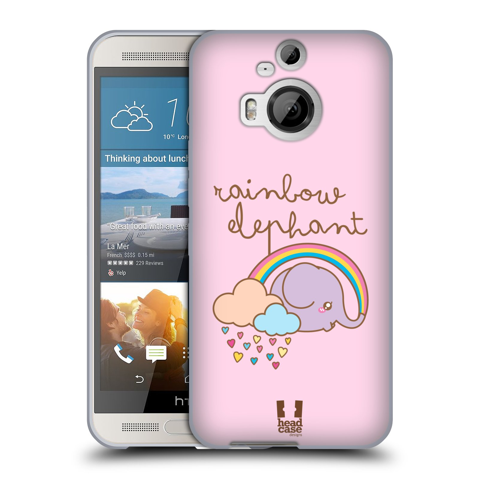 HEAD-CASE-DESIGNS-ELEFANTI-KAWAII-COVER-MORBIDA-IN-GEL-PER-HTC-TELEFONI-2