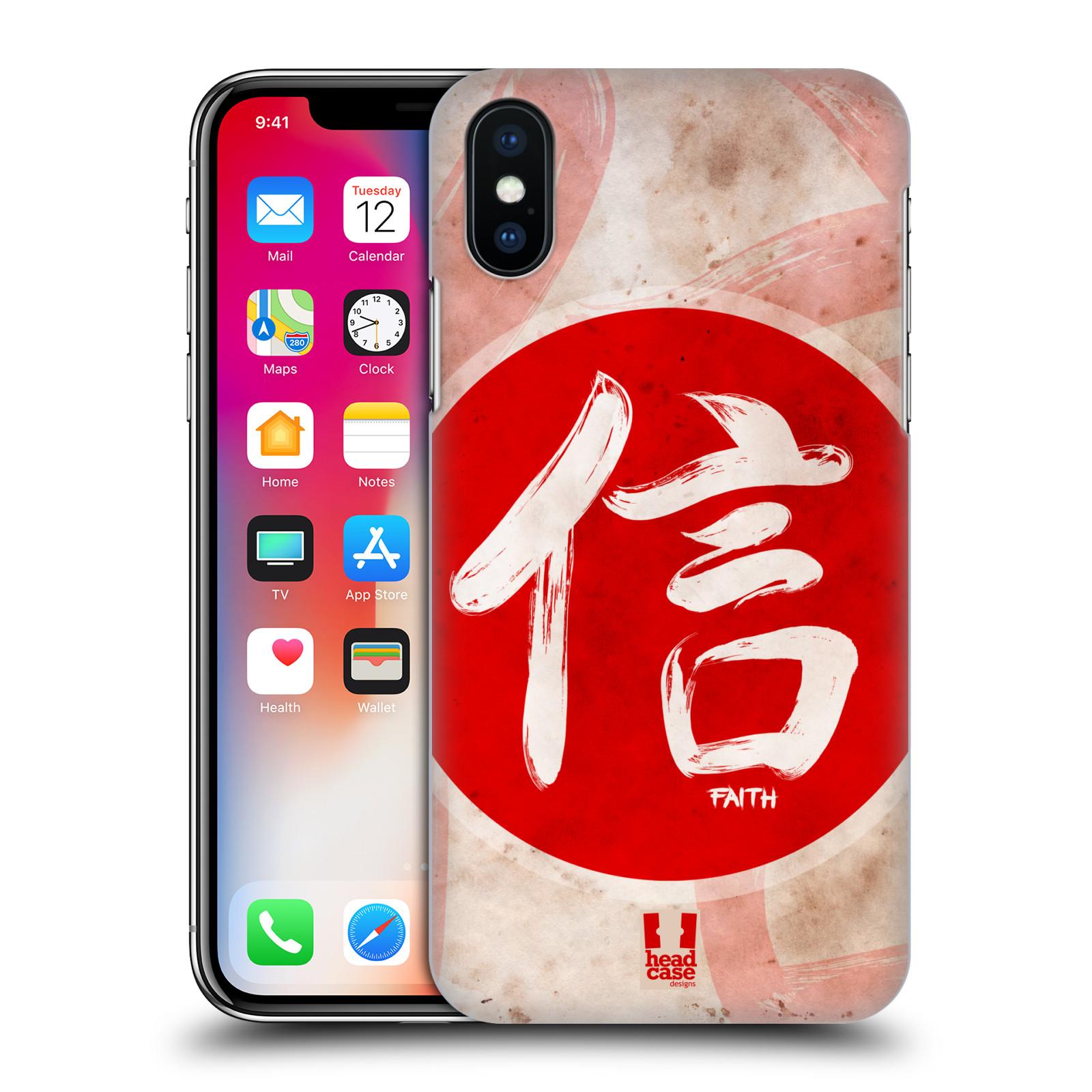 HEAD-CASE-DESIGNS-KANJI-ETUI-COQUE-D-039-ARRIERE-RIGIDE-POUR-APPLE-iPHONE-X