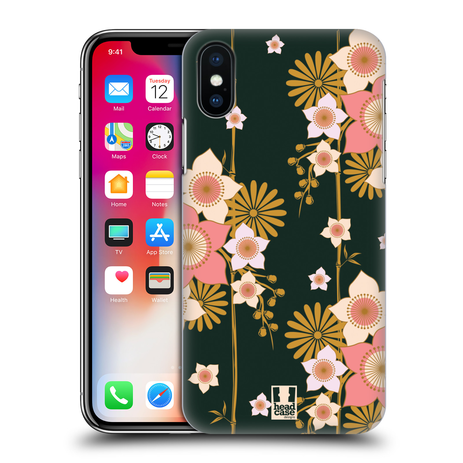 HEAD-CASE-DESIGNS-LACQUERWARE-HARD-BACK-CASE-FOR-APPLE-iPHONE-PHONES