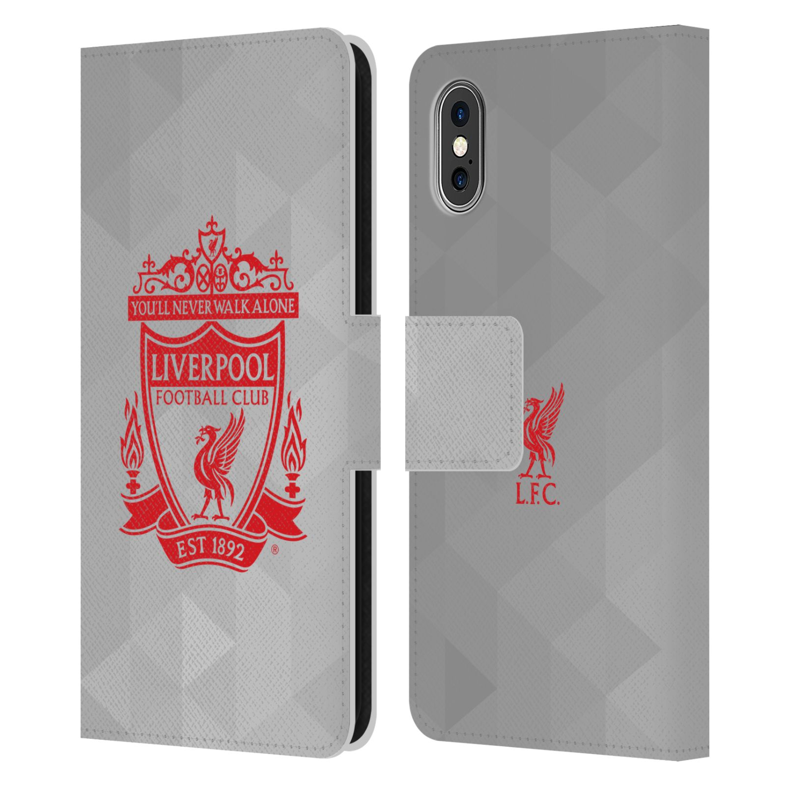 CASE FOR APPLE Source · LIVERPOOL FC LFC CREST 1 PU LEATHER BOOK .