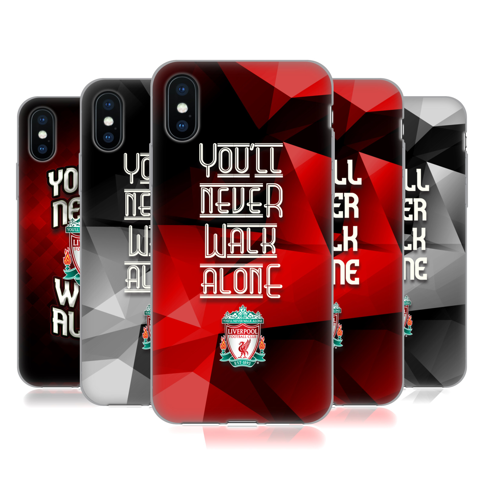 Liverpool Football Club Crest You'Ll Never Walk Alone