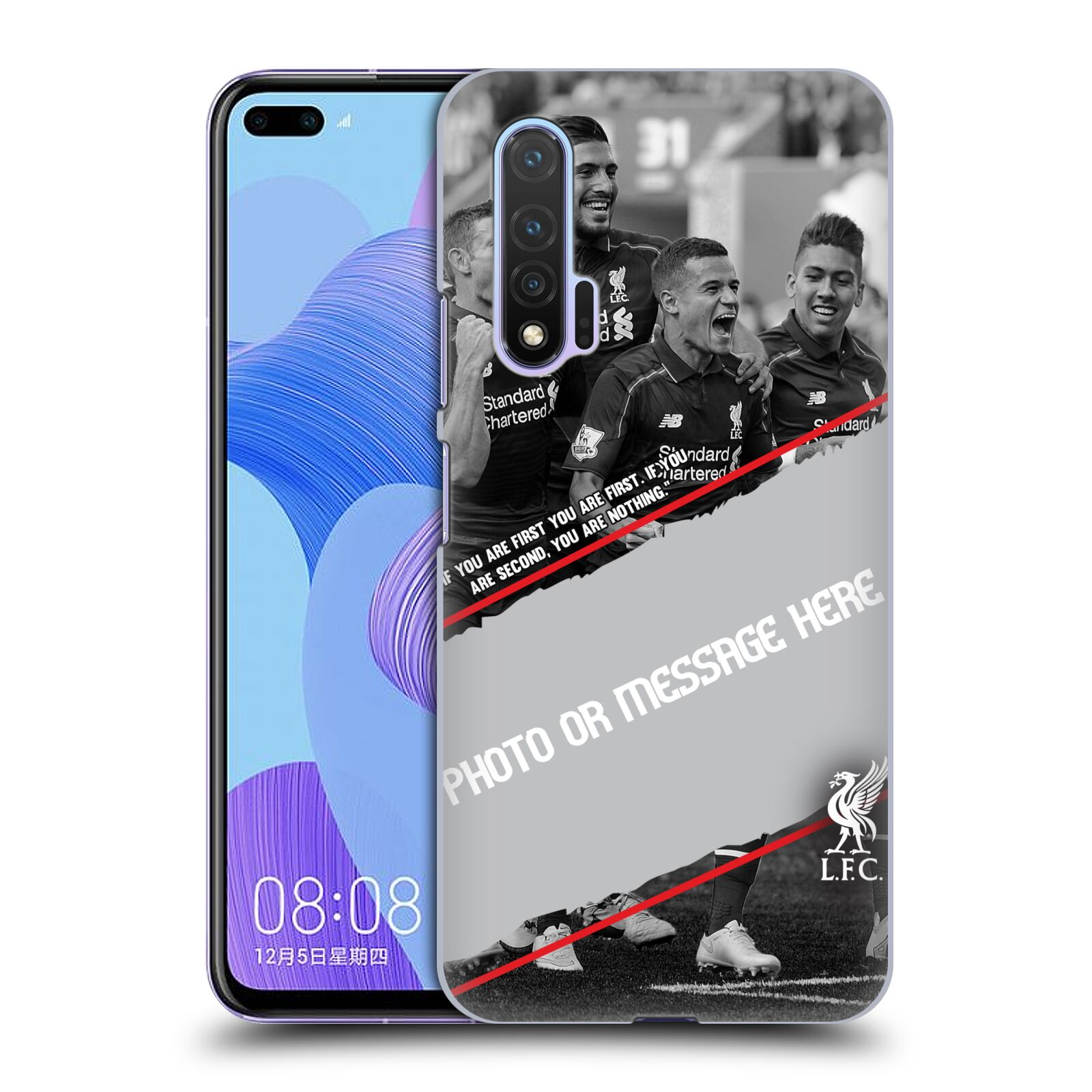 Custom Customised Personalised Liverpool Football Club Liverpool Fc Goal Case for Huawei Nova 6 5G