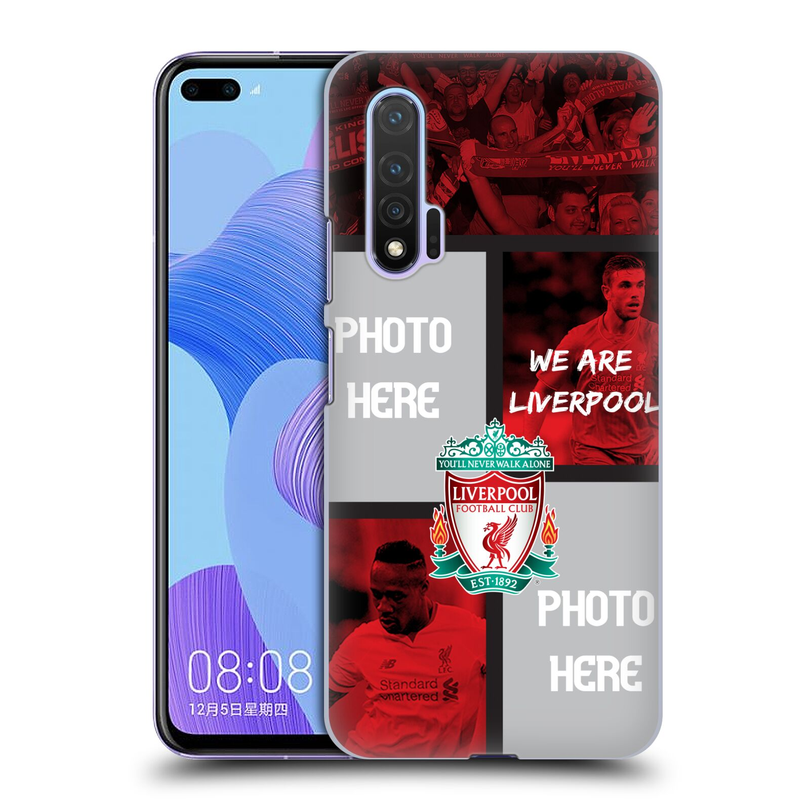Custom Customised Personalised Liverpool Football Club Liverpool Fc We Are Liverpool Case for Huawei Nova 6 5G