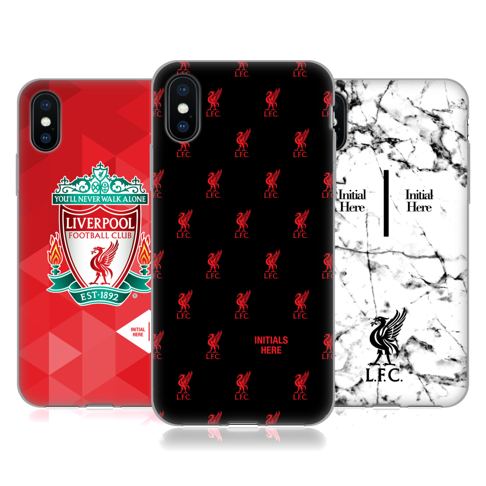 Liverpool Football Club 2017/18 Logo Personalised