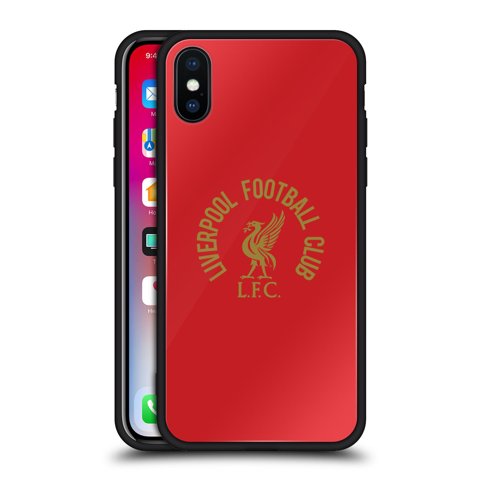 LIVERPOOL-FC-LFC-LIVER-BIRD-BLACK-HYBRID-GLASS-BACK-CASE-FOR-iPHONE-PHONES