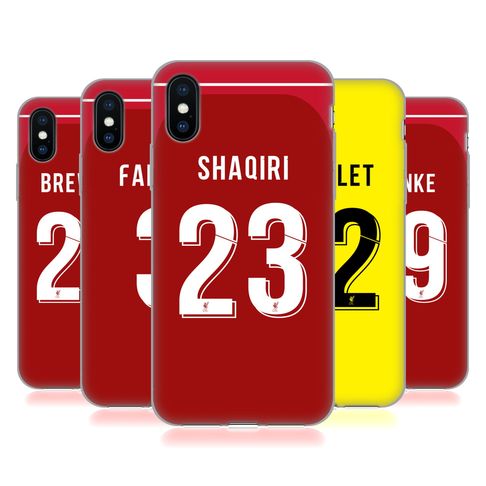 Liverpool Football Club 2018/19 Players Home Kit Group 2