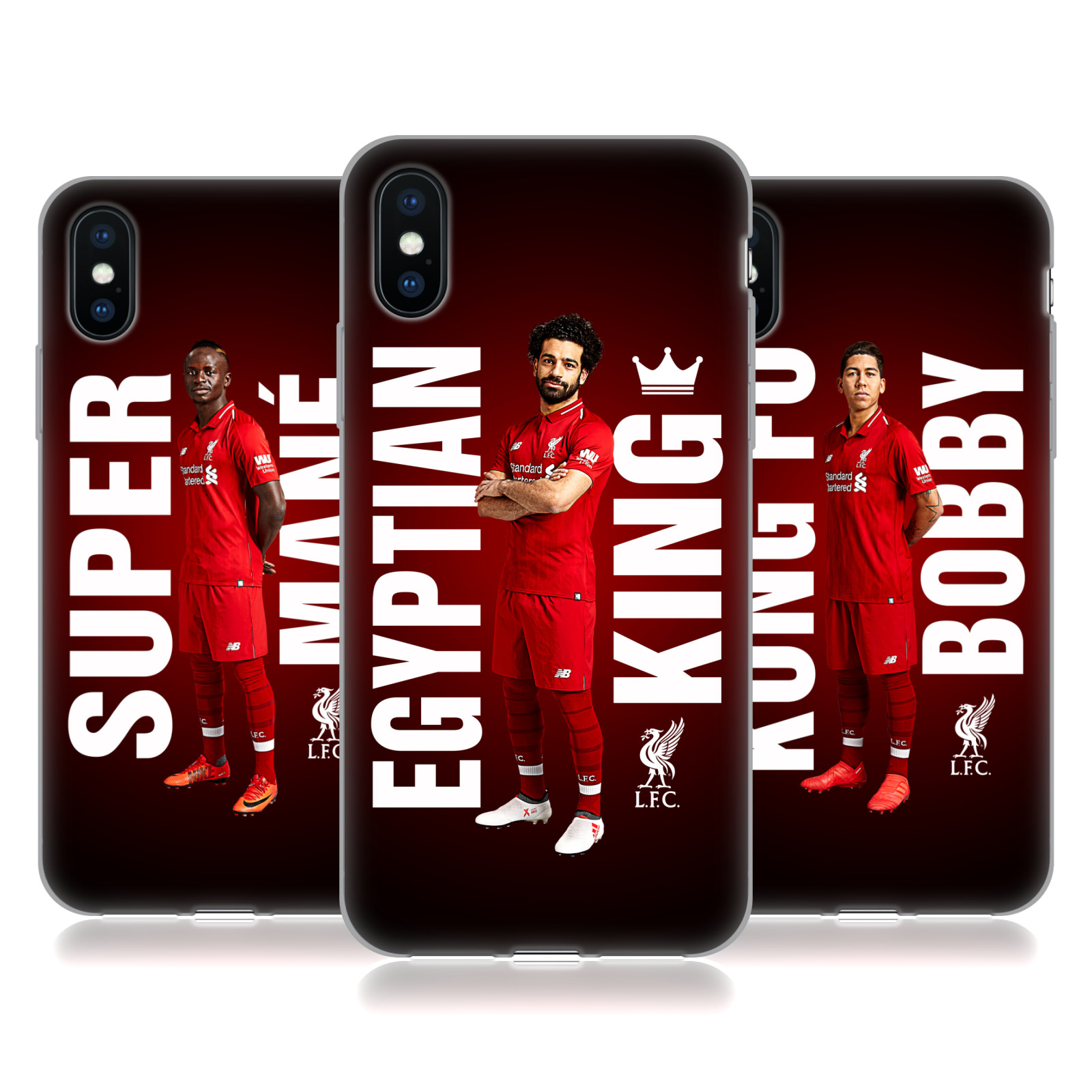 Liverpool Football Club 2018/19 Star Trio
