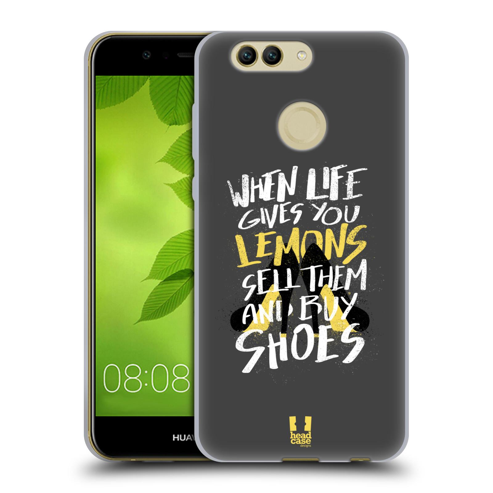 Diseños de la vida y limones HEAD CASE Gel Suave Estuche Para HUAWEI NOVA 2 PLUS