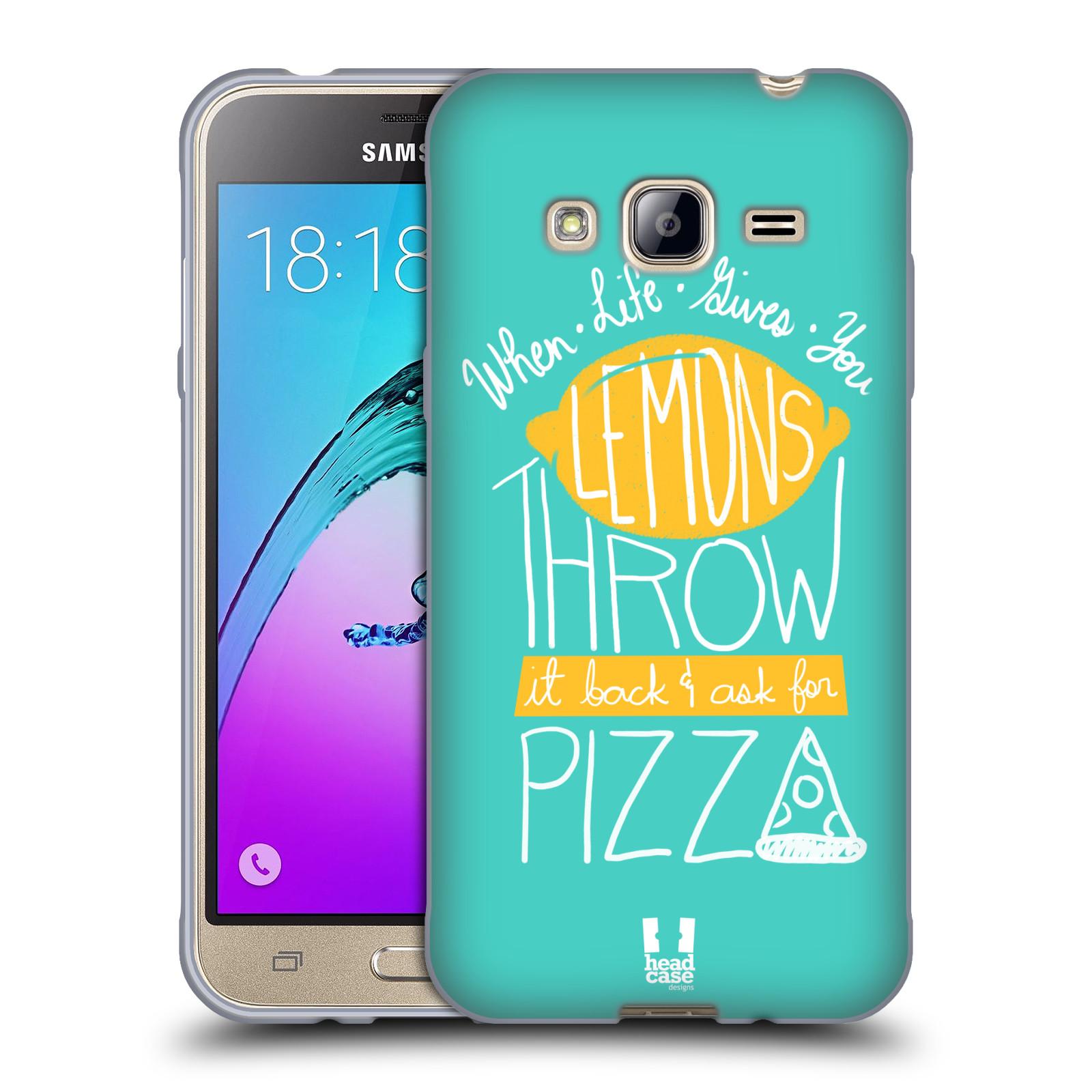 Funda HEAD CASE DESIGNS DE LA VIDA Y Limones Gel Suave Estuche Para Teléfonos Samsung 3