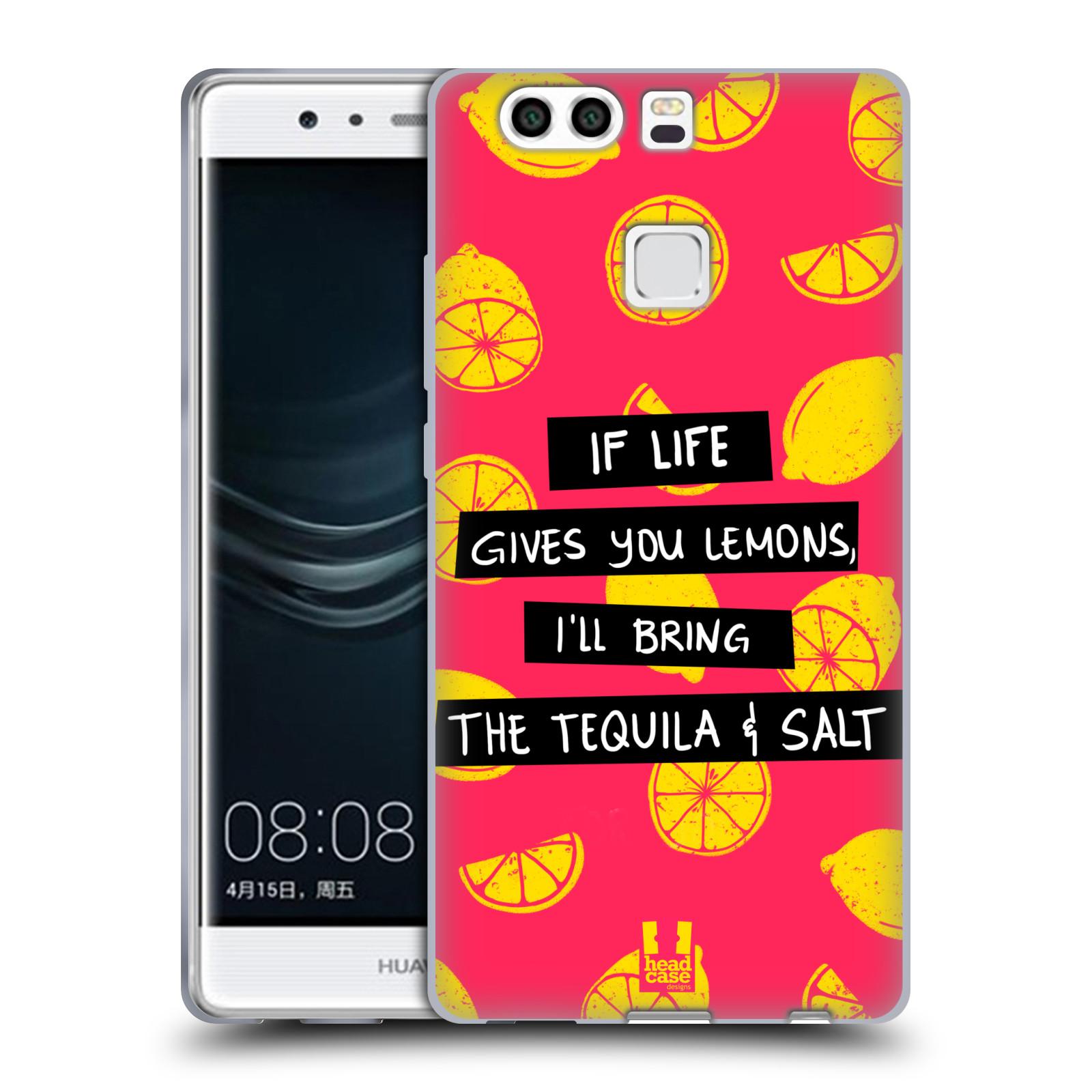Diseños de la vida y limones HEAD CASE Gel Suave Estuche Para HUAWEI P9 Plus
