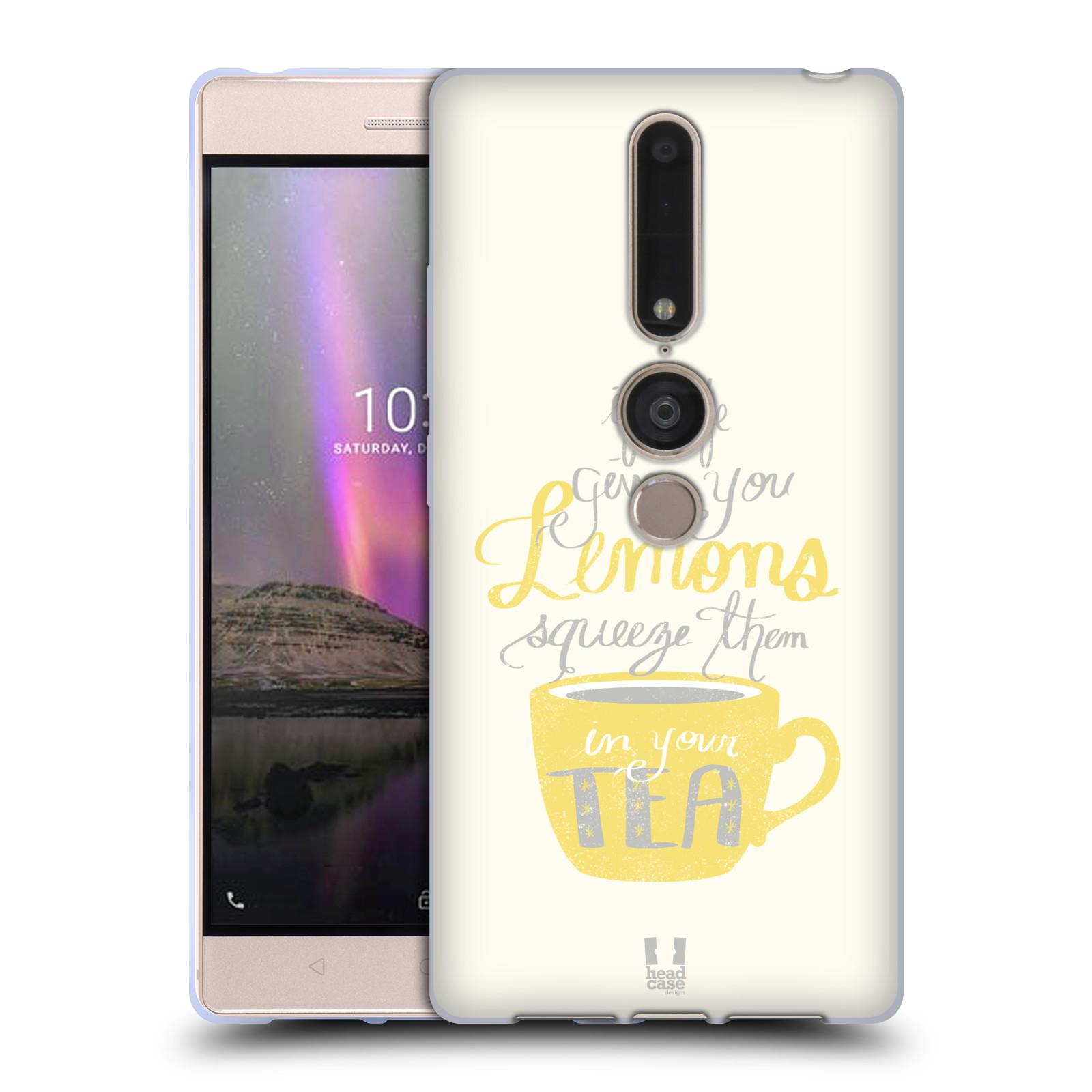 Diseños de la vida y limones HEAD CASE Gel Suave Estuche Para LENOVO PHAB 2 PRO