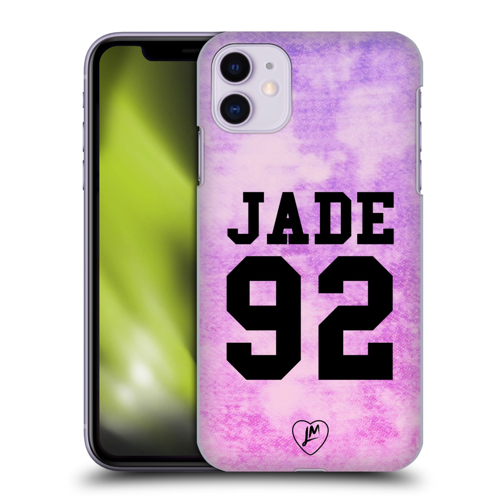 Officiel Little Mix Art Jersey Jade Étui Coque D'Arrière Pour Apple iPhone 11