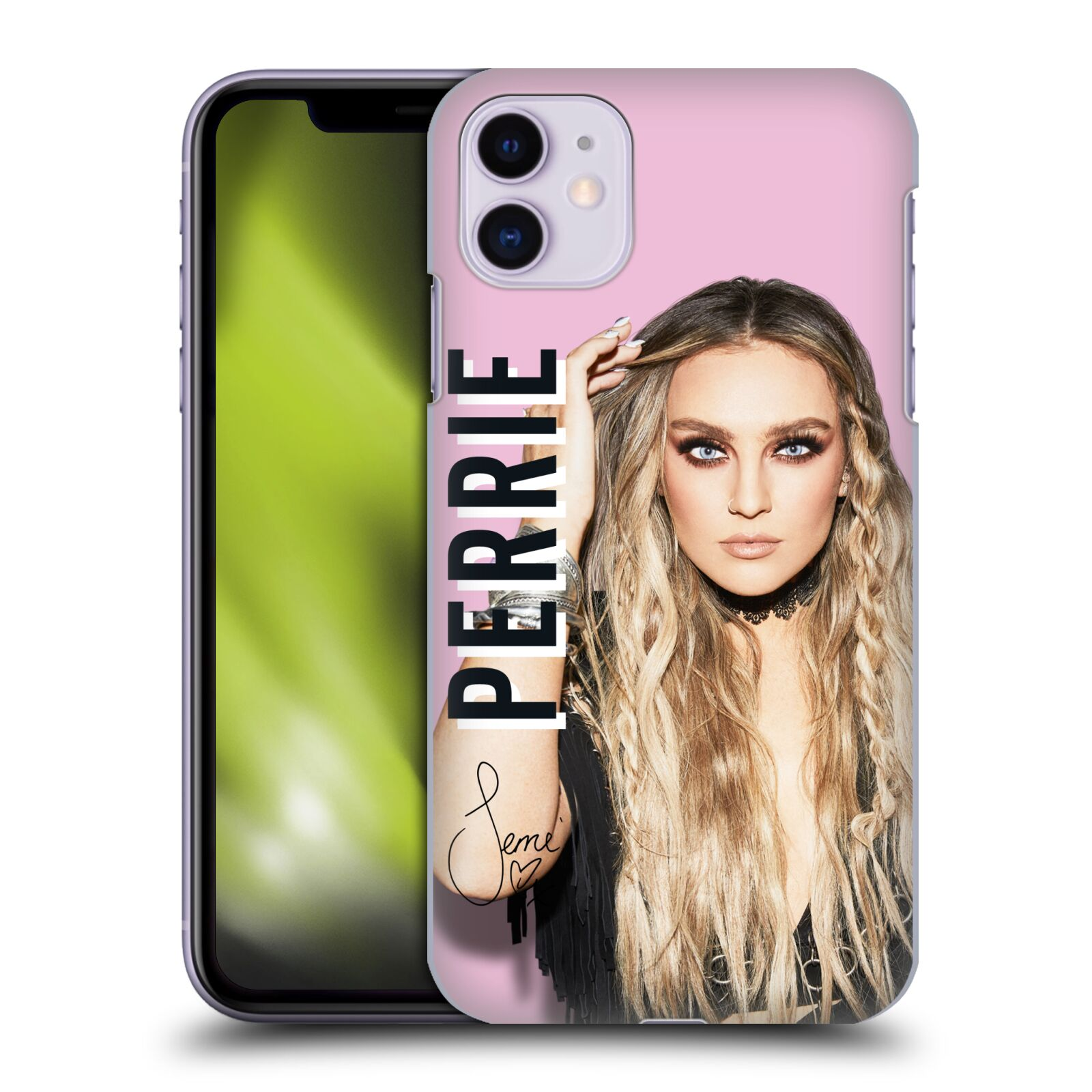 Officiel Little Mix Collection D'Autographe Perrie Étui Coque D'Arrière Pour Apple iPhone 11