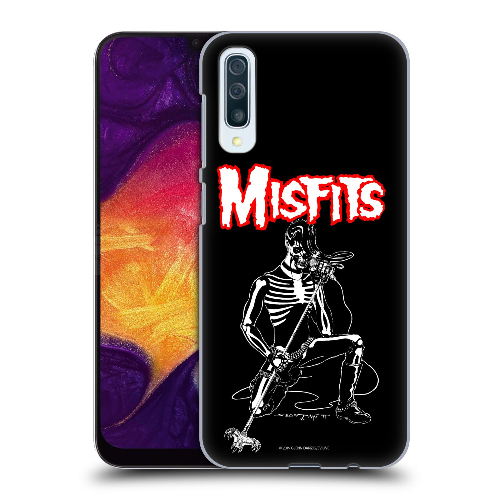 Official Misfits Band Art Legacy Of Brutality Case for Samsung Galaxy A50/A30s (2019)