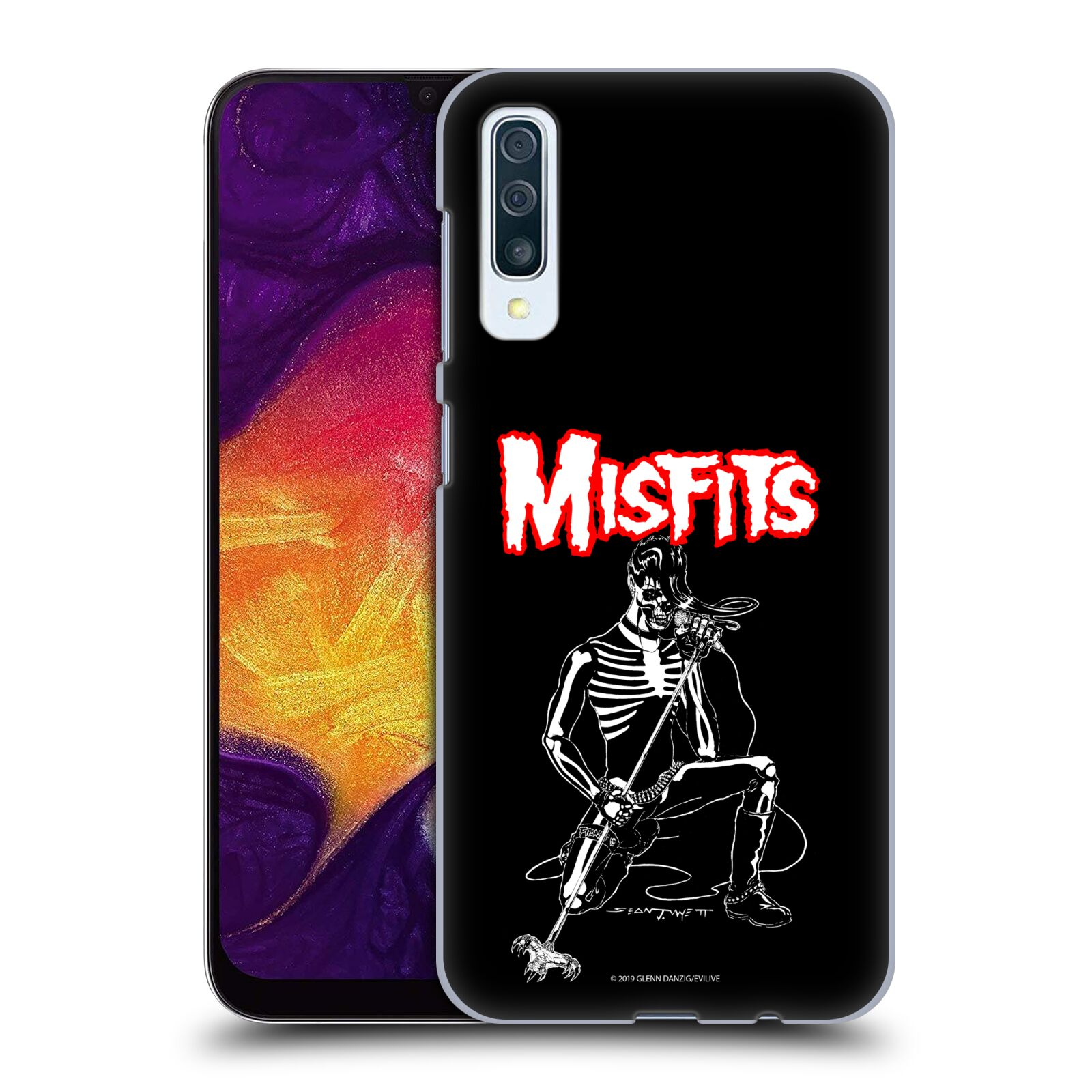 Official Misfits Band Art Legacy Of Brutality Case for Samsung Galaxy A50s (2019)