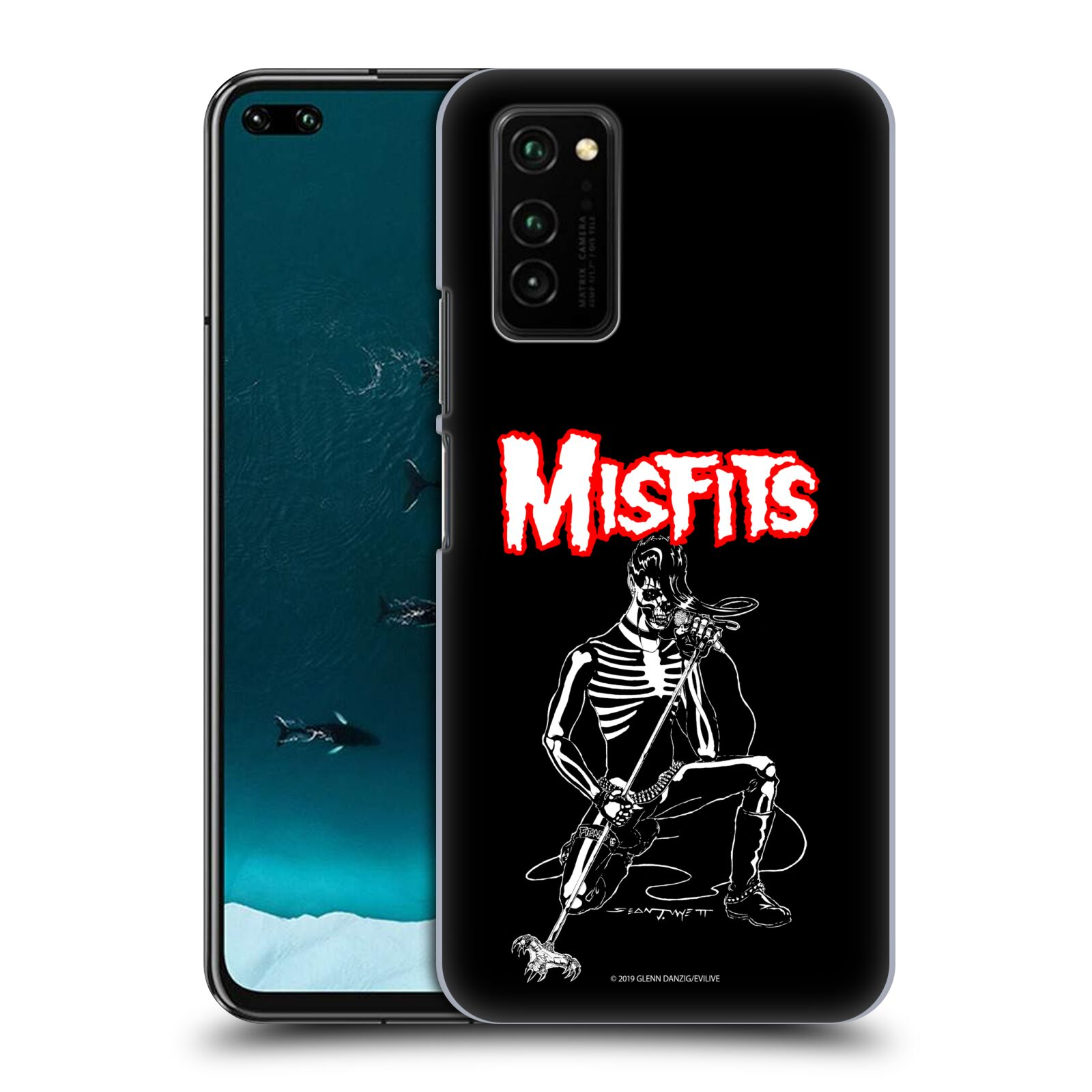 Official Misfits Band Art Legacy Of Brutality Case for Huawei Honor V30 / Honor View 30