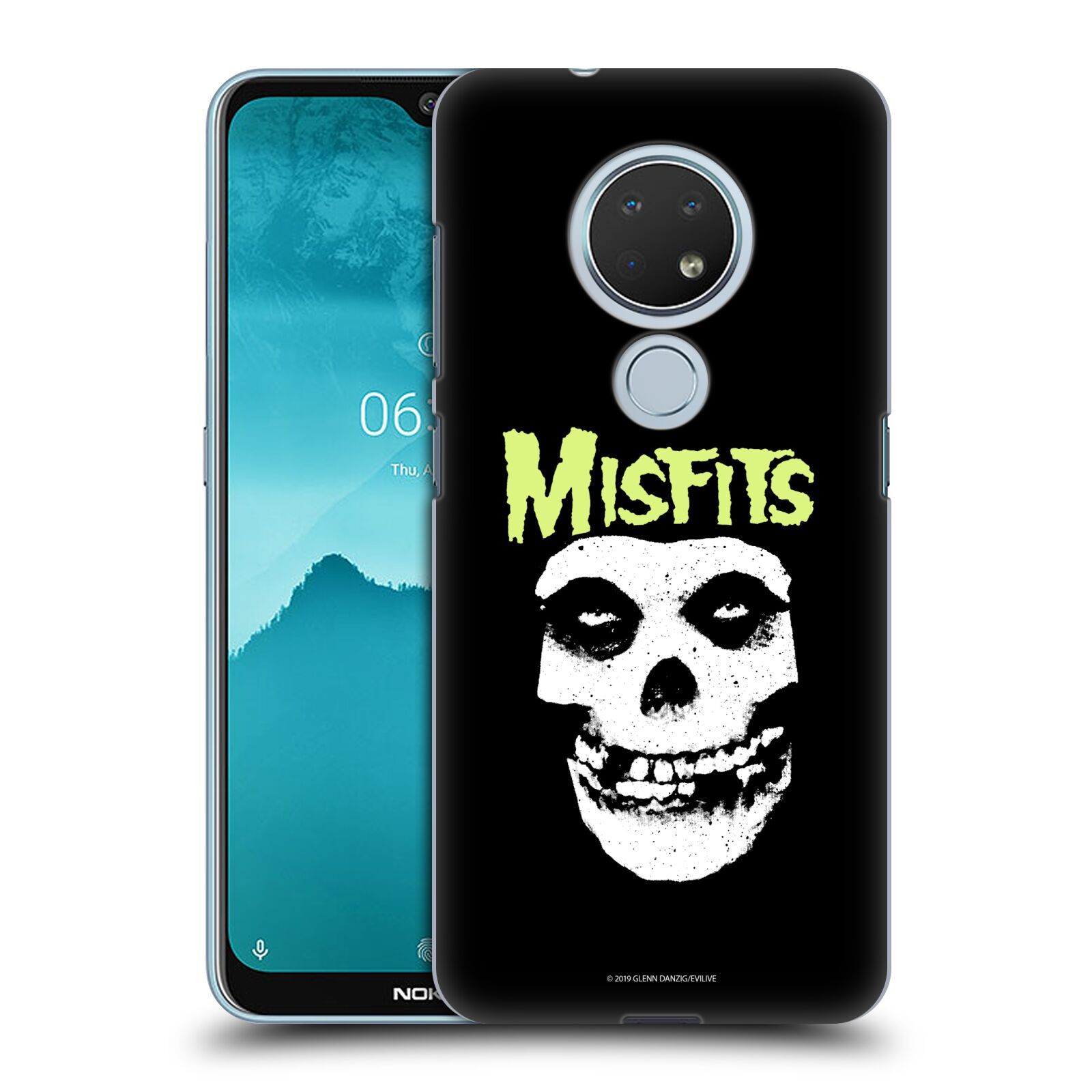 Official Misfits Band Art Skull Case for Nokia 6.2