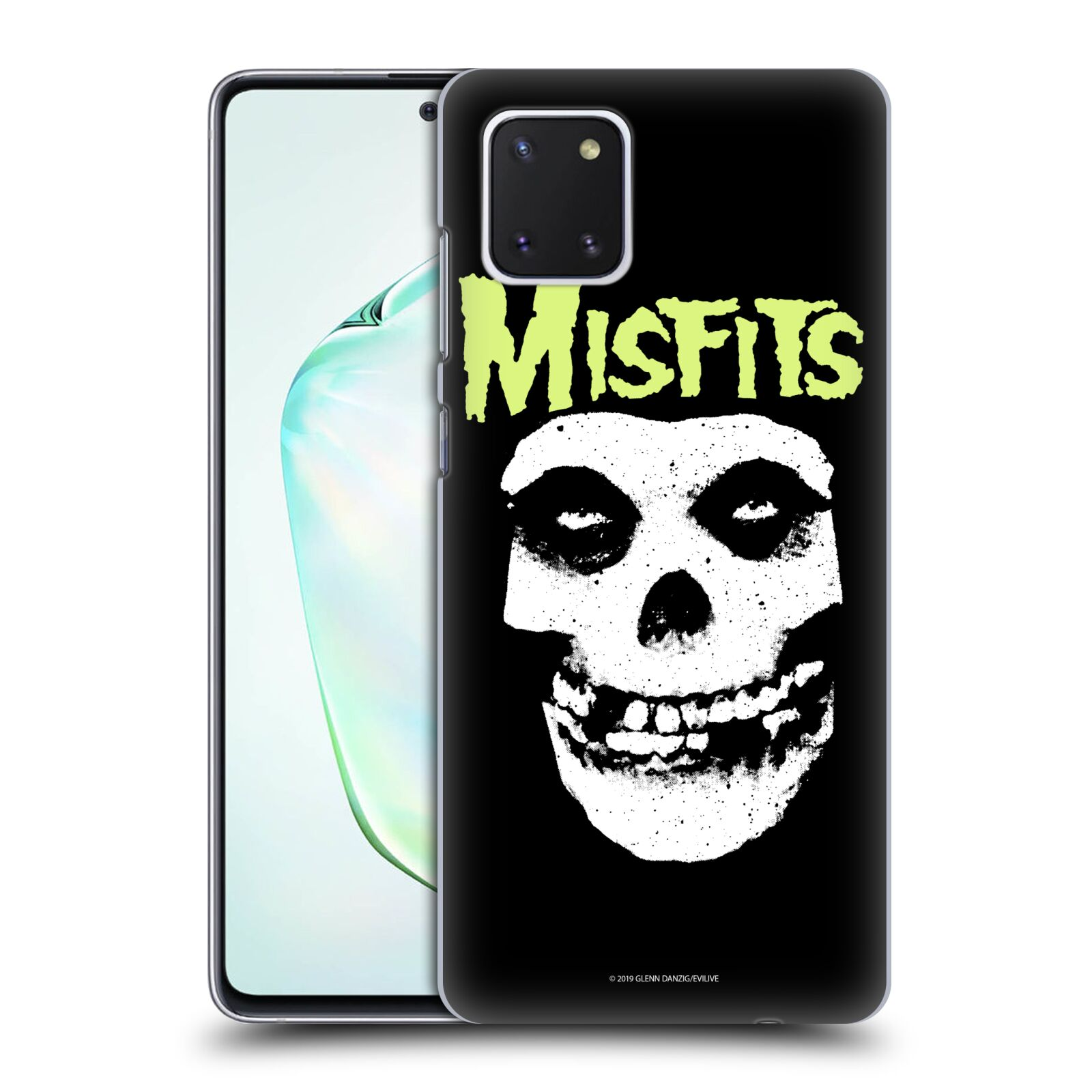 Official Misfits Band Art Skull Case for Samsung Galaxy Note10 Lite