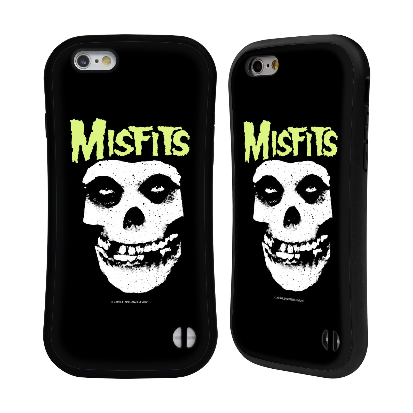 Official Misfits Band Art Skull Hybrid Case for Apple iPhone 6 / iPhone 6s