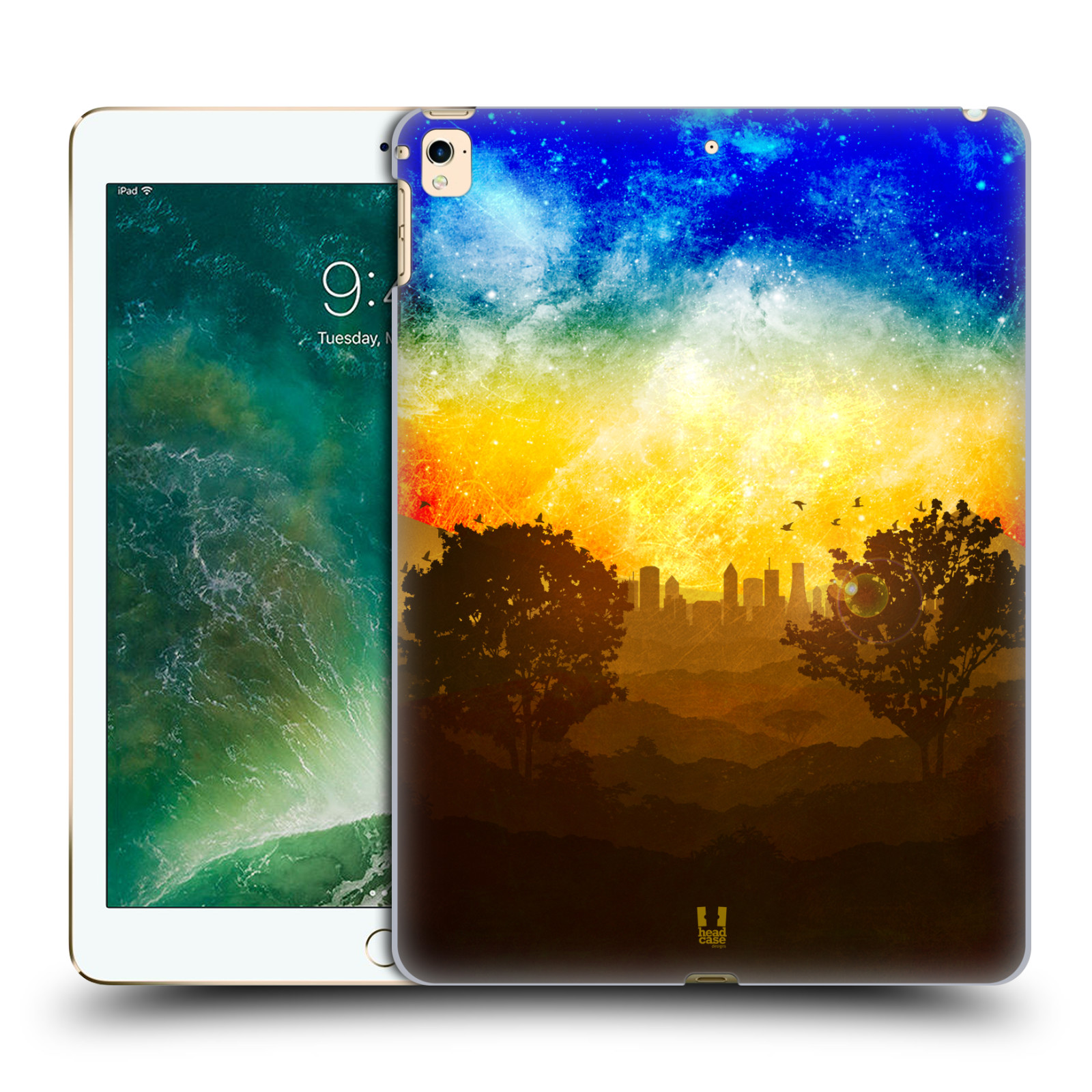HEAD CASE DESIGNS LIFESCAPES SILHOUETTES BACK CASE FOR APPLE iPAD ...
