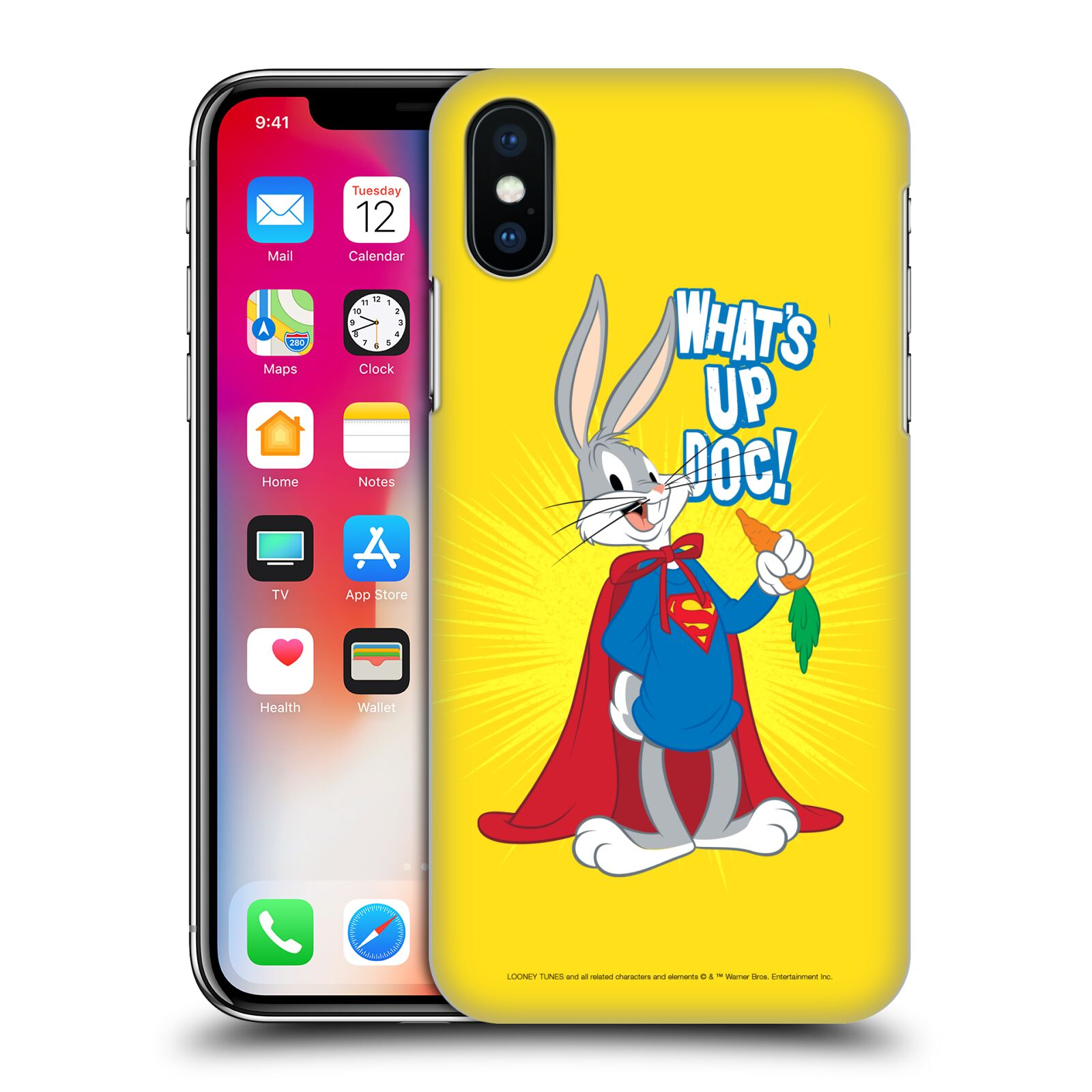 Official Looney Tunes Bugs Bunny Super Case for Apple iPhone X / iPhone XS
