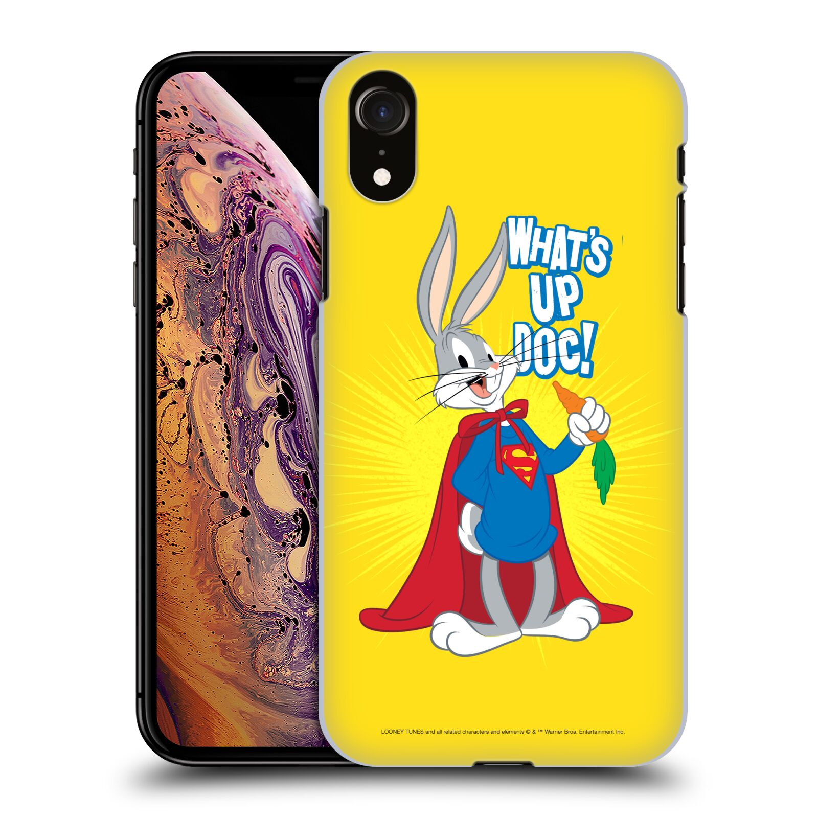 Official Looney Tunes Bugs Bunny Super Case for Apple iPhone XR
