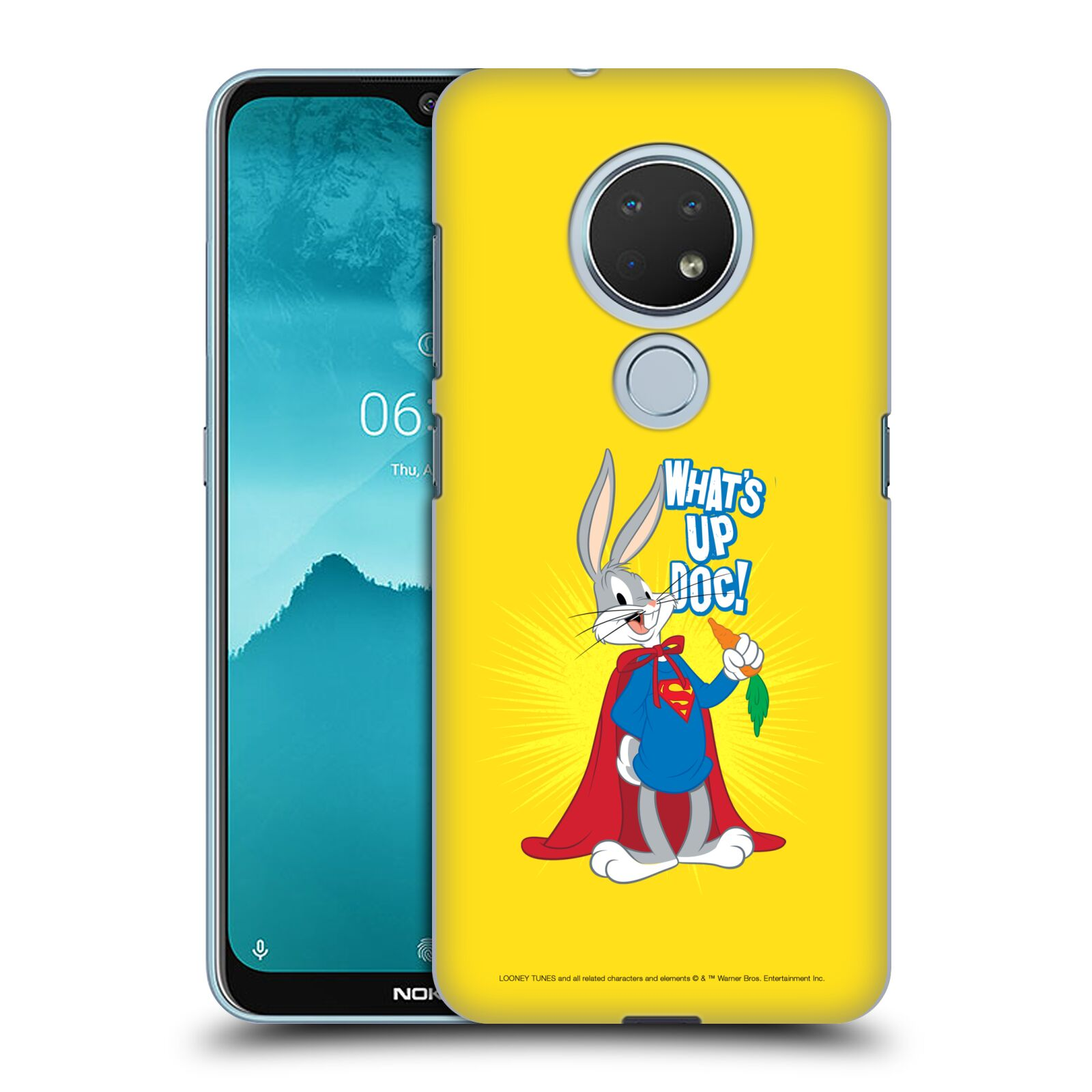 Official Looney Tunes Bugs Bunny Super Case for Nokia 6.2