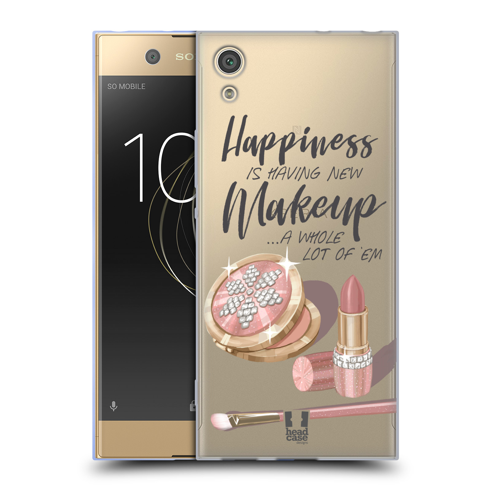 HEAD-CASE-DESIGNS-MAKEUP-OBSESSION-SOFT-GEL-CASE-FOR-SONY-PHONES-1