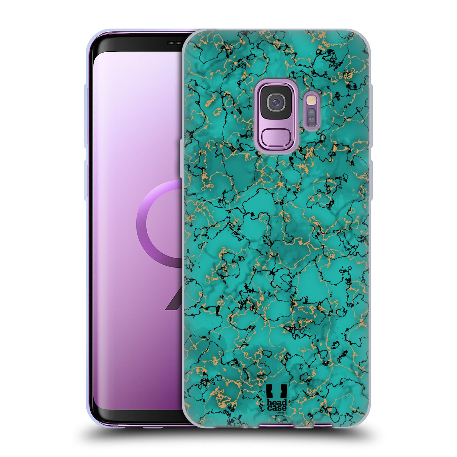 Funda-HEAD-CASE-DESIGNS-CON-Gel-Suave-impresiones-de-marmol-para-telefonos-Samsung-1