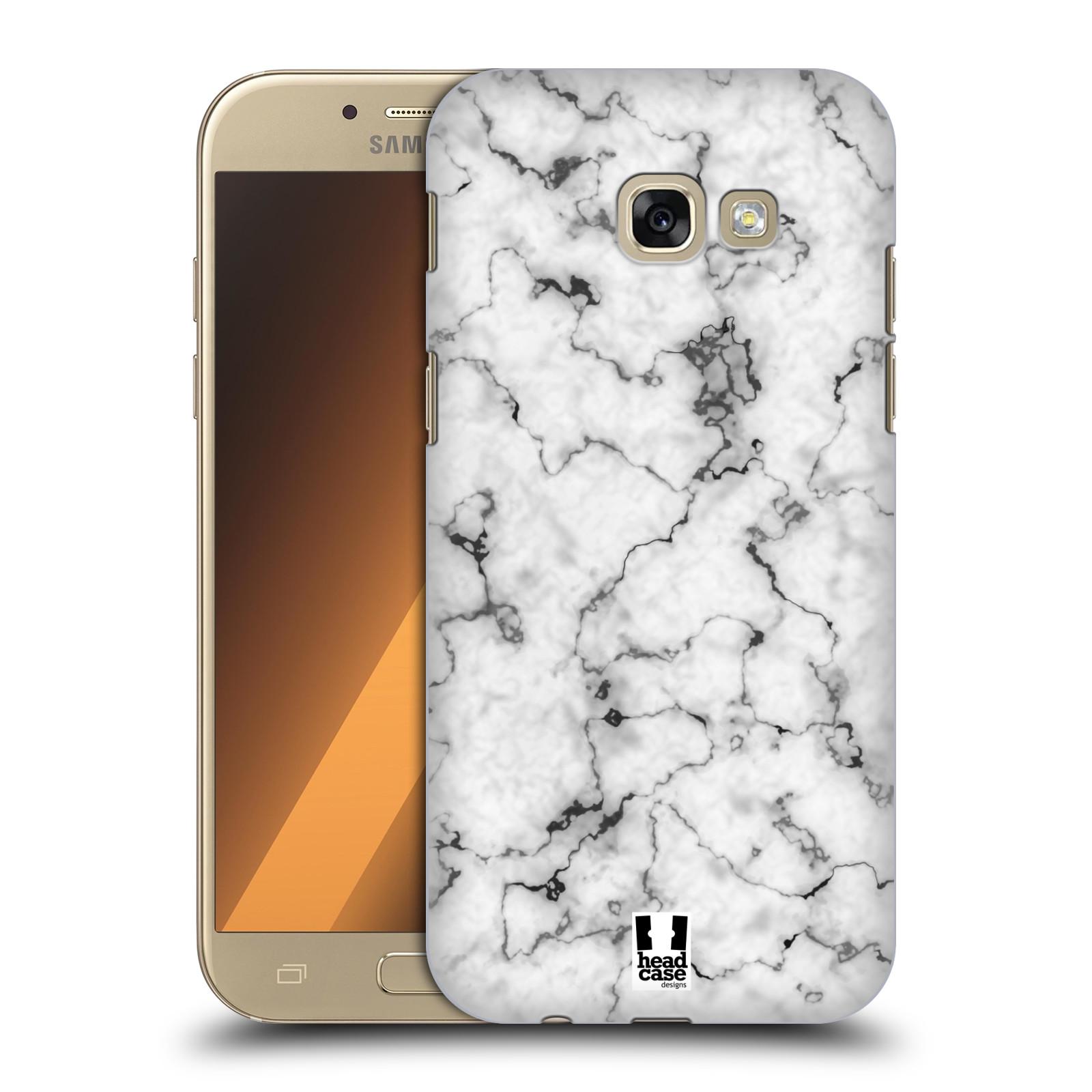 Plastové pouzdro na mobil Samsung Galaxy A5 (2017) - Head Case - Bílý mramor