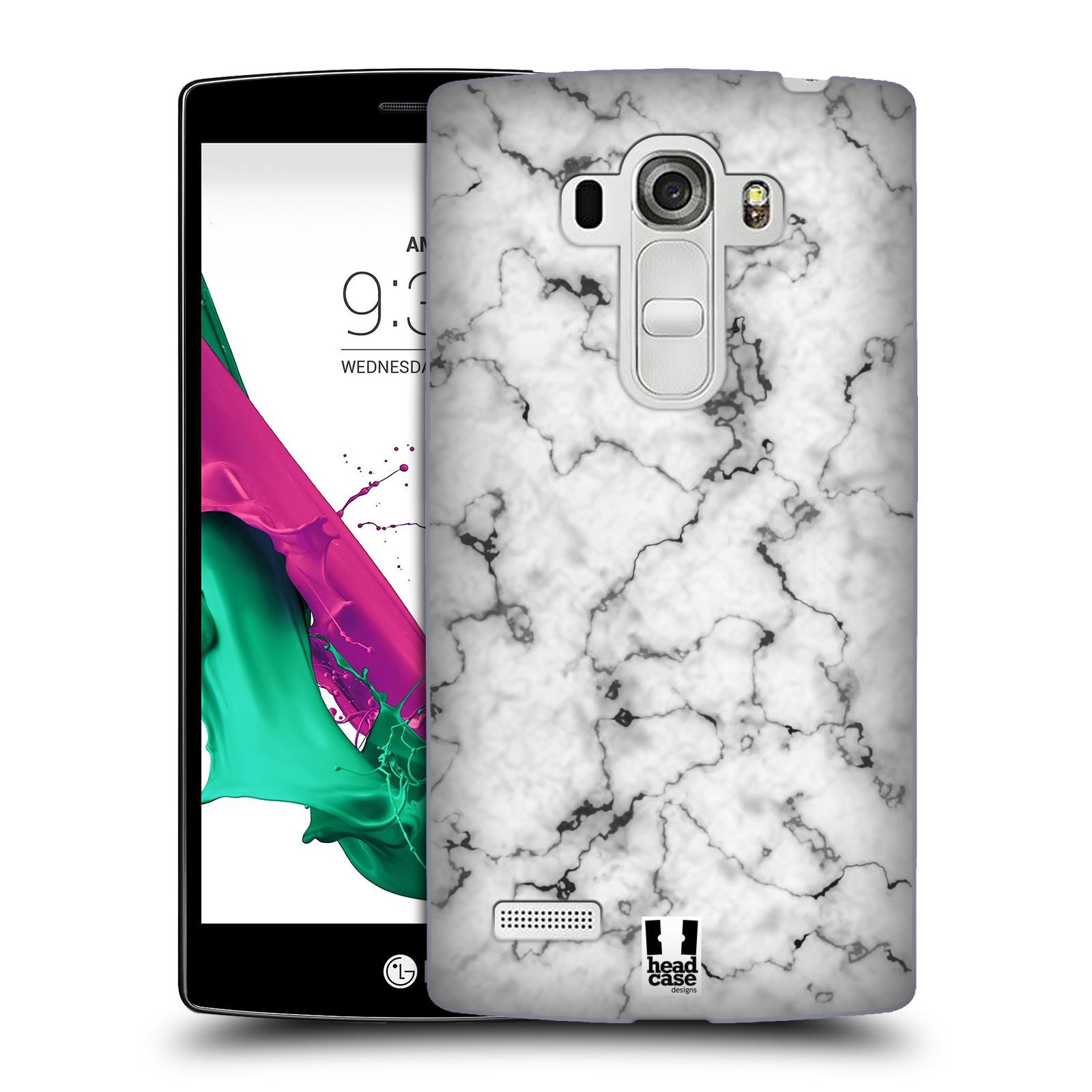 Plastové pouzdro na mobil LG G4s - Head Case - Bílý mramor
