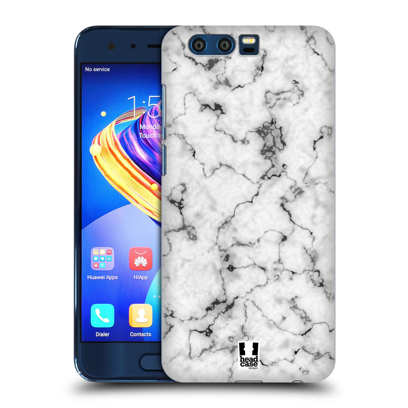 Plastové pouzdro na mobil Honor 9 - Head Case - Bílý mramor