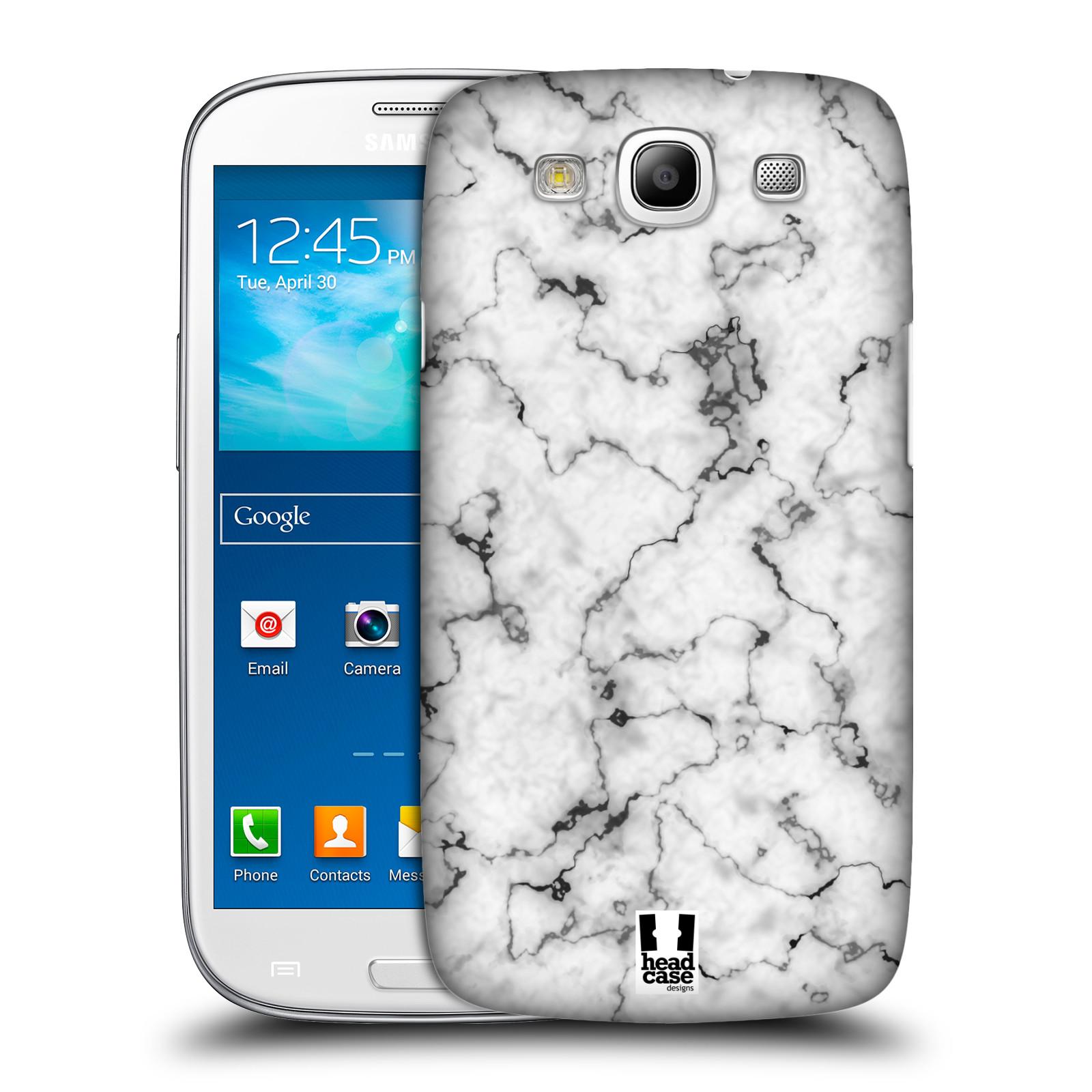 Plastové pouzdro na mobil Samsung Galaxy S3 Neo - Head Case - Bílý mramor