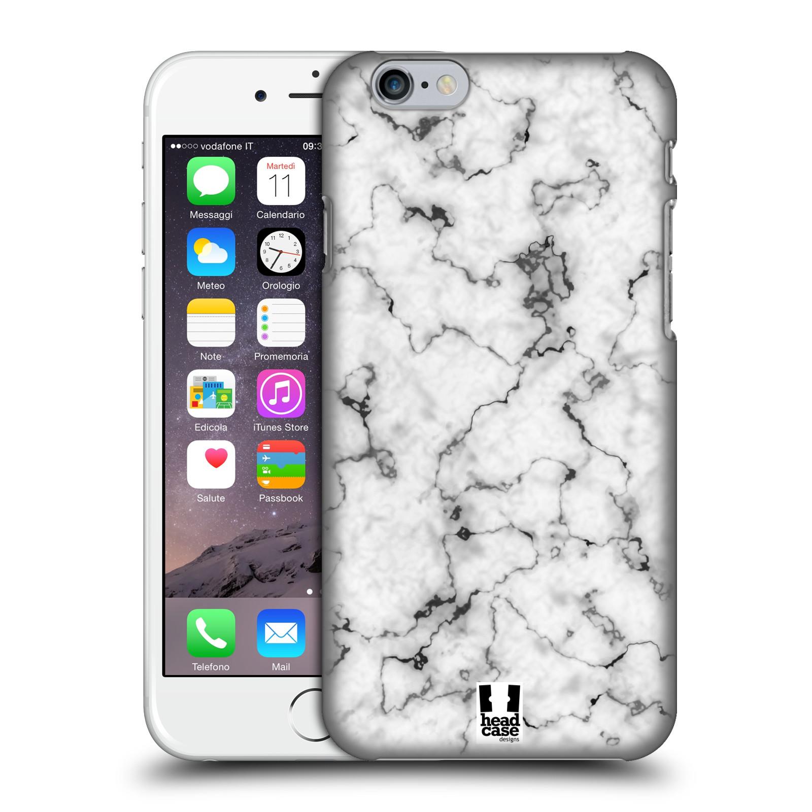 Plastové pouzdro na mobil Apple iPhone 6 - Head Case - Bílý mramor