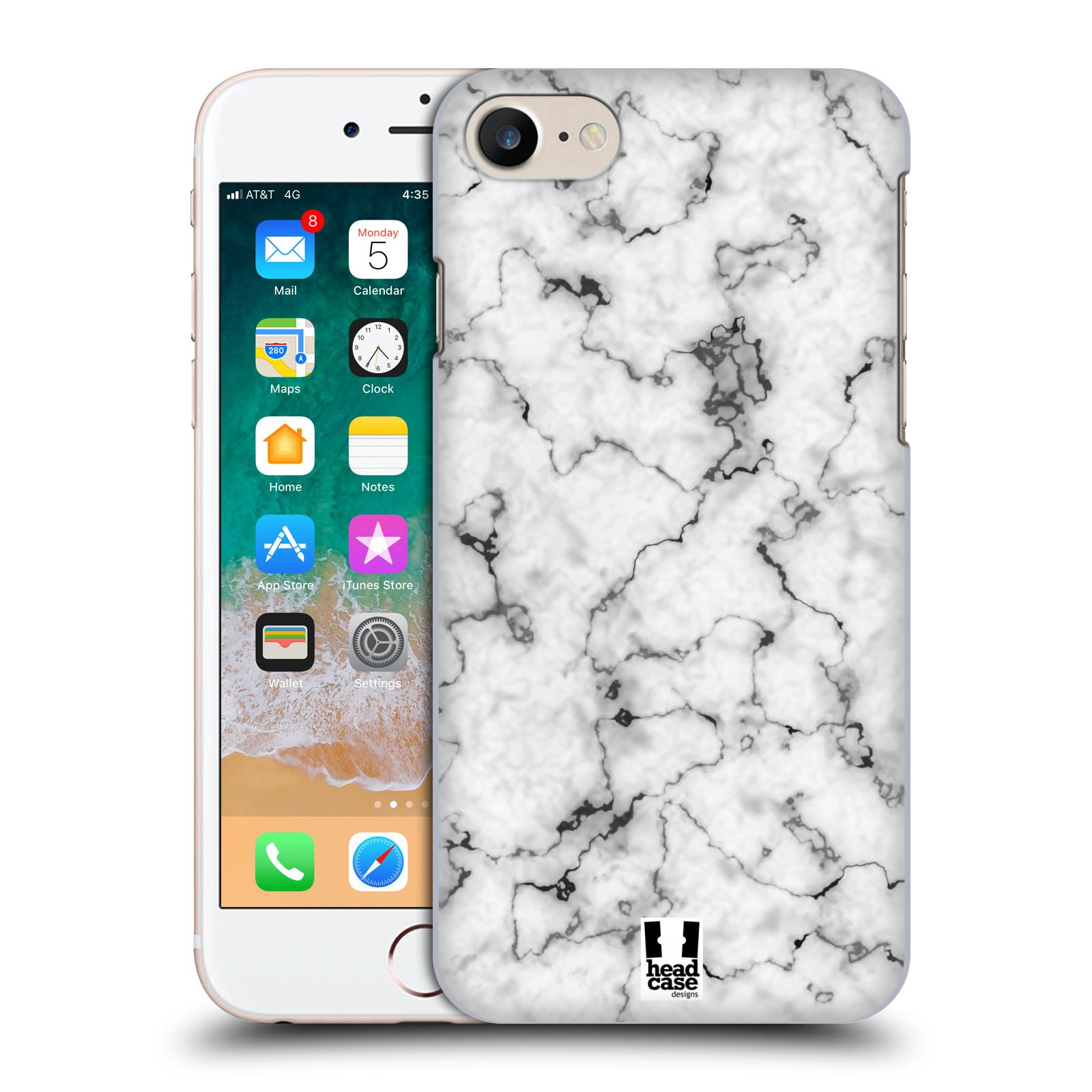 Plastové pouzdro na mobil Apple iPhone 7 - Head Case - Bílý mramor