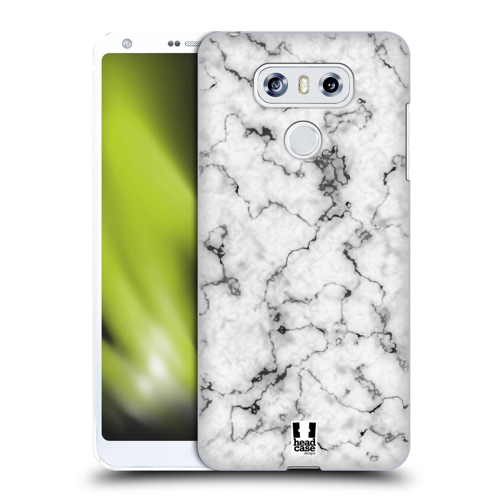 Plastové pouzdro na mobil LG G6 - Head Case - Bílý mramor
