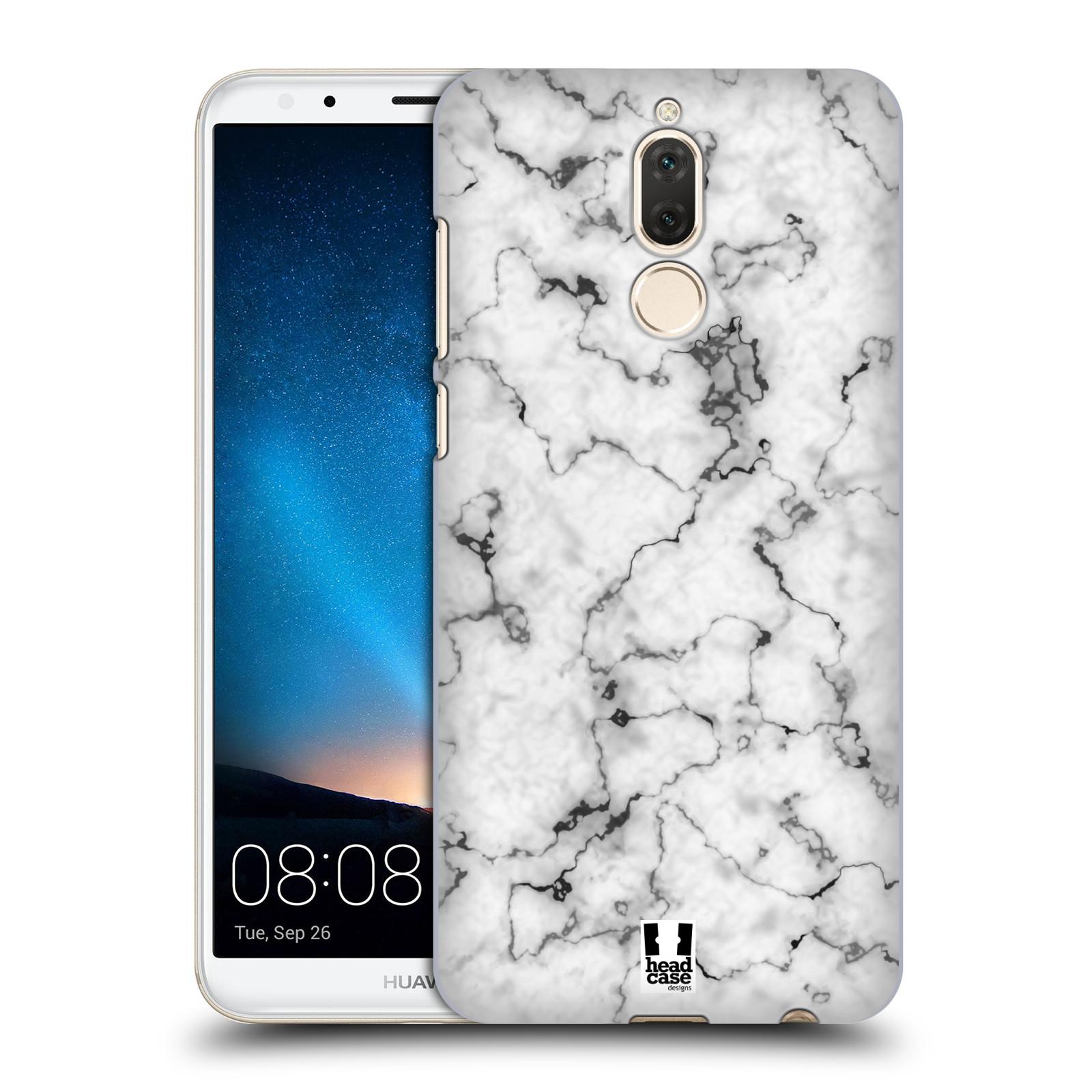 Plastové pouzdro na mobil Huawei Mate 10 Lite - Head Case - Bílý mramor