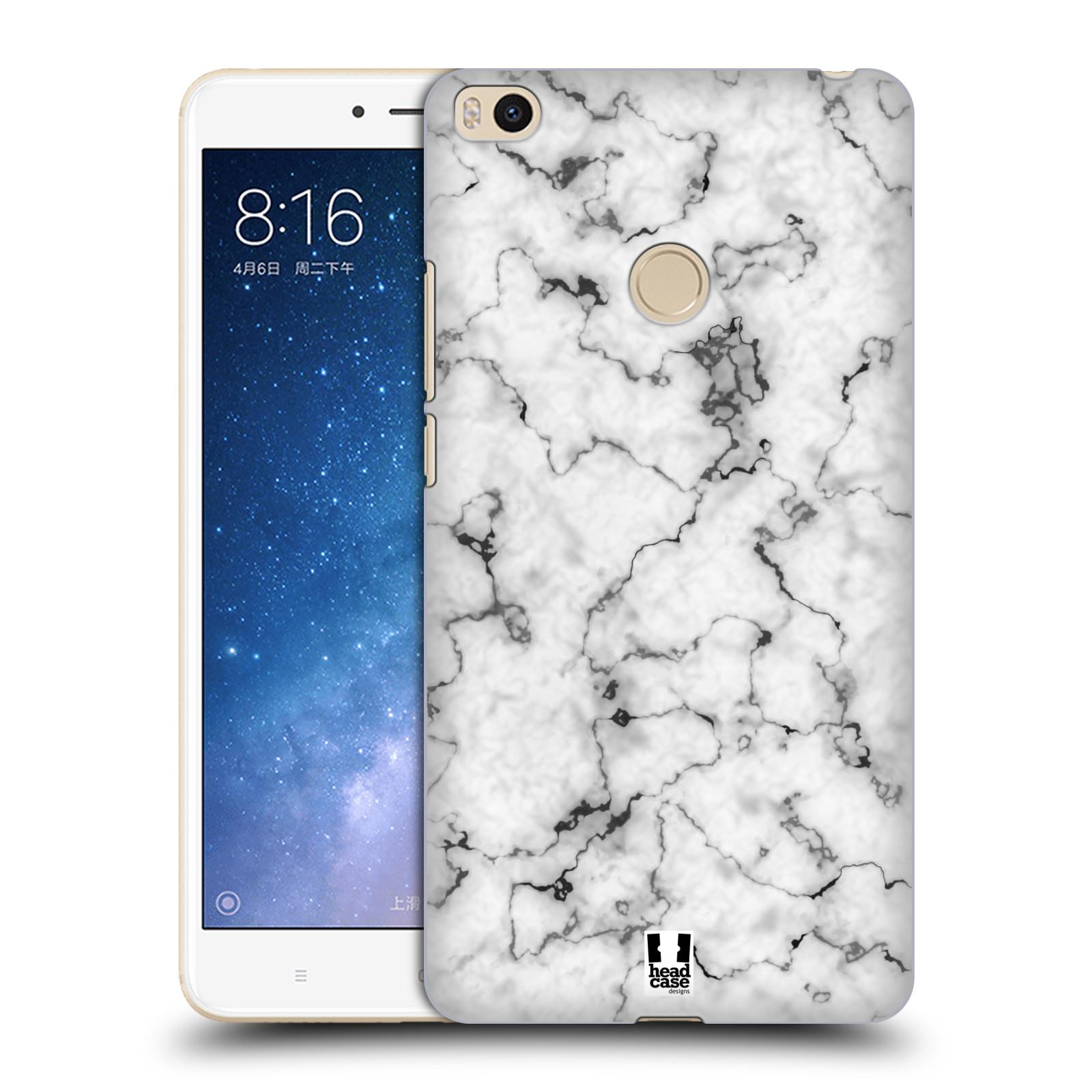Plastové pouzdro na mobil Xiaomi Mi Max 2 - Head Case - Bílý mramor