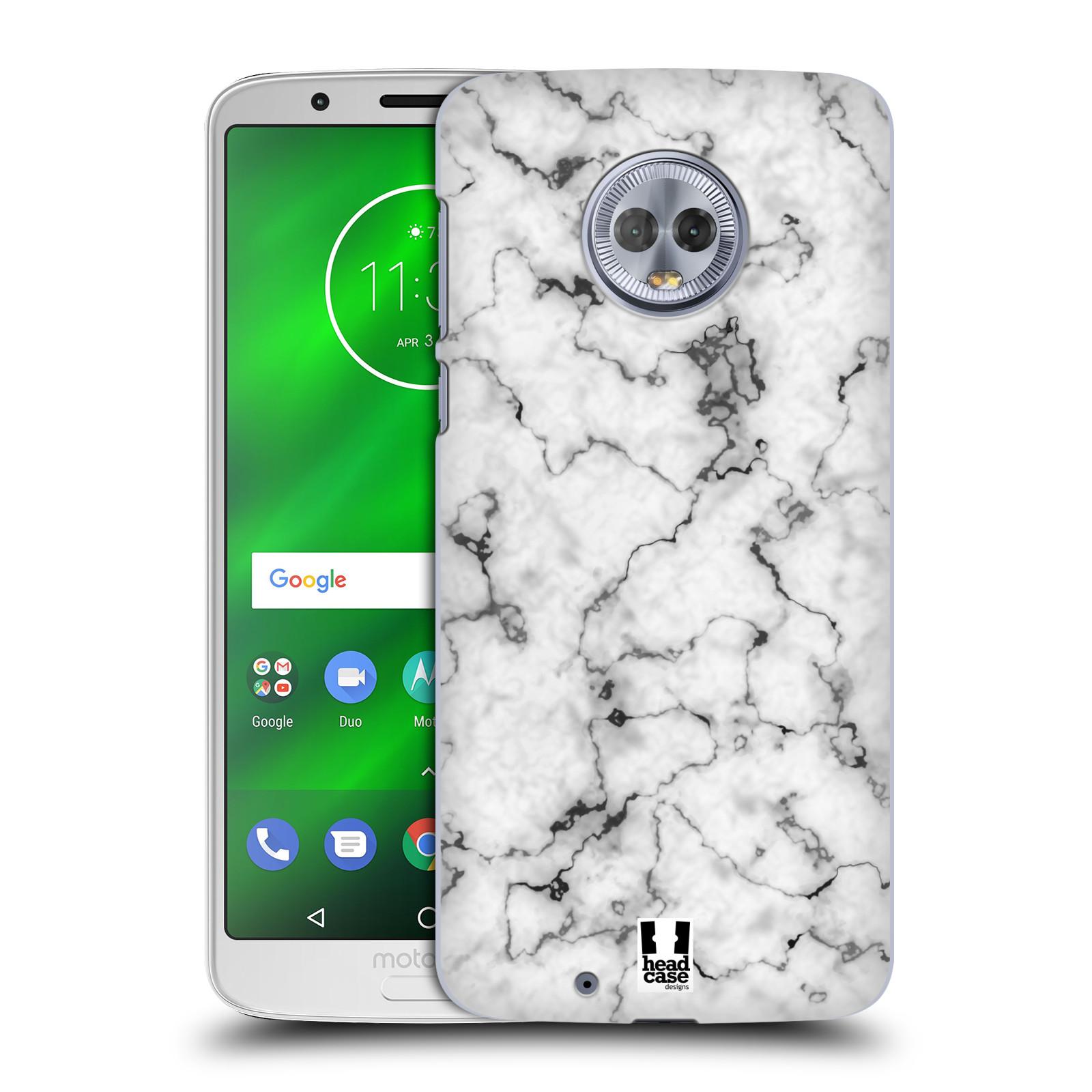 Plastové pouzdro na mobil Motorola Moto G6 - Head Case - Bílý mramor