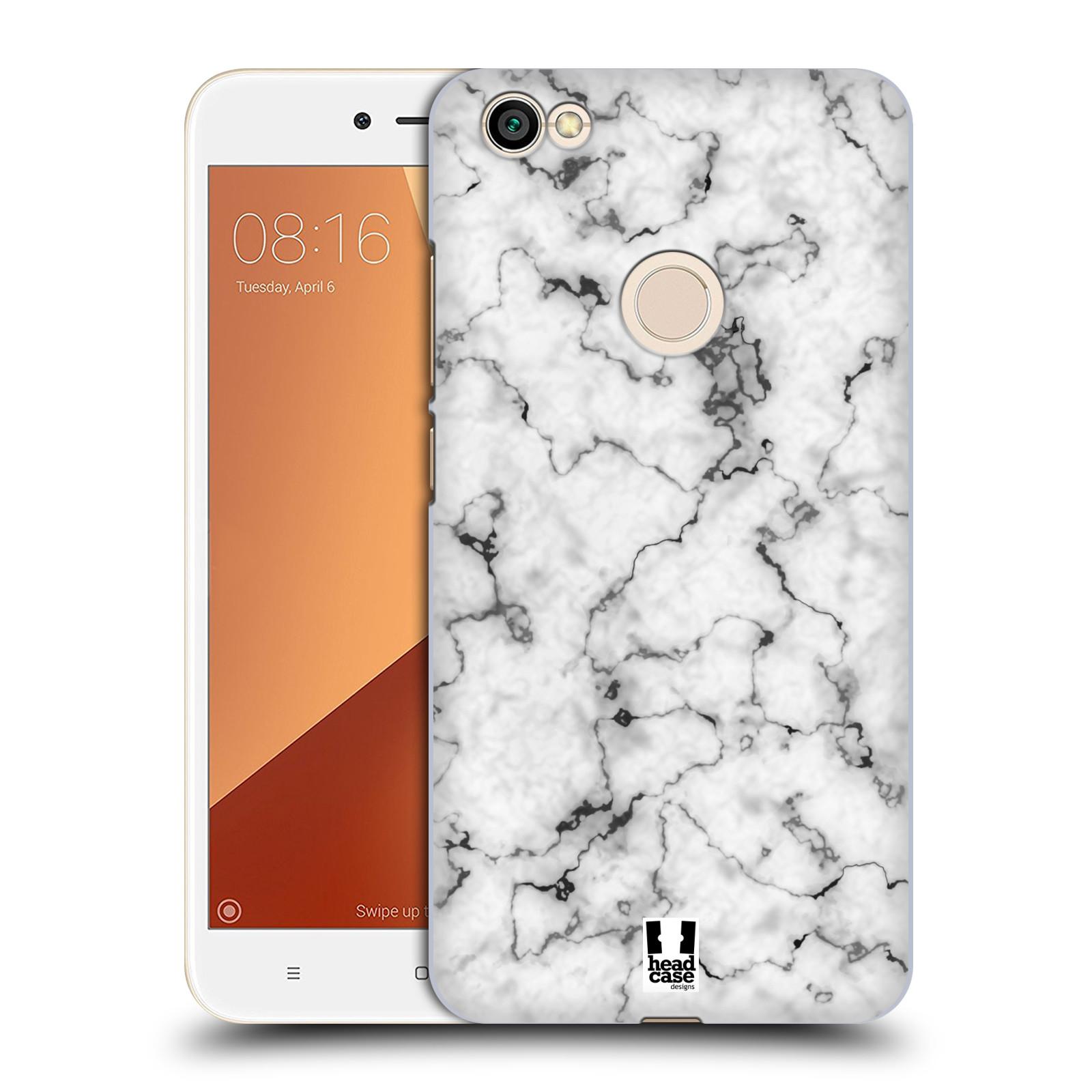 Plastové pouzdro na mobil Xiaomi Redmi Note 5A - Head Case - Bílý mramor